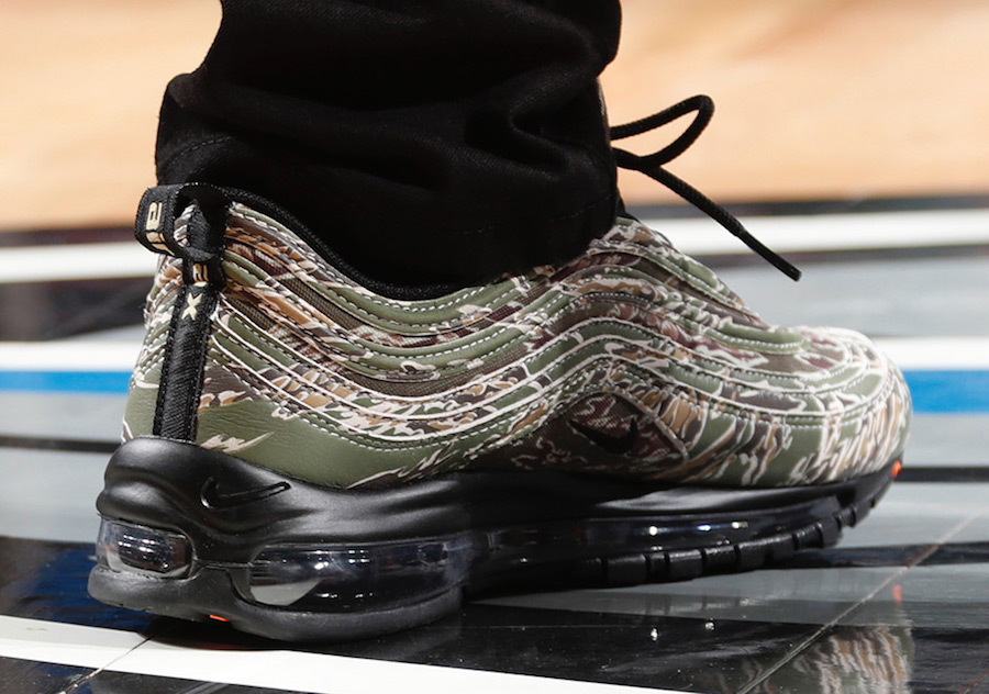 Isaiah Thomas  Nike Air Max 97 USA Camo 1