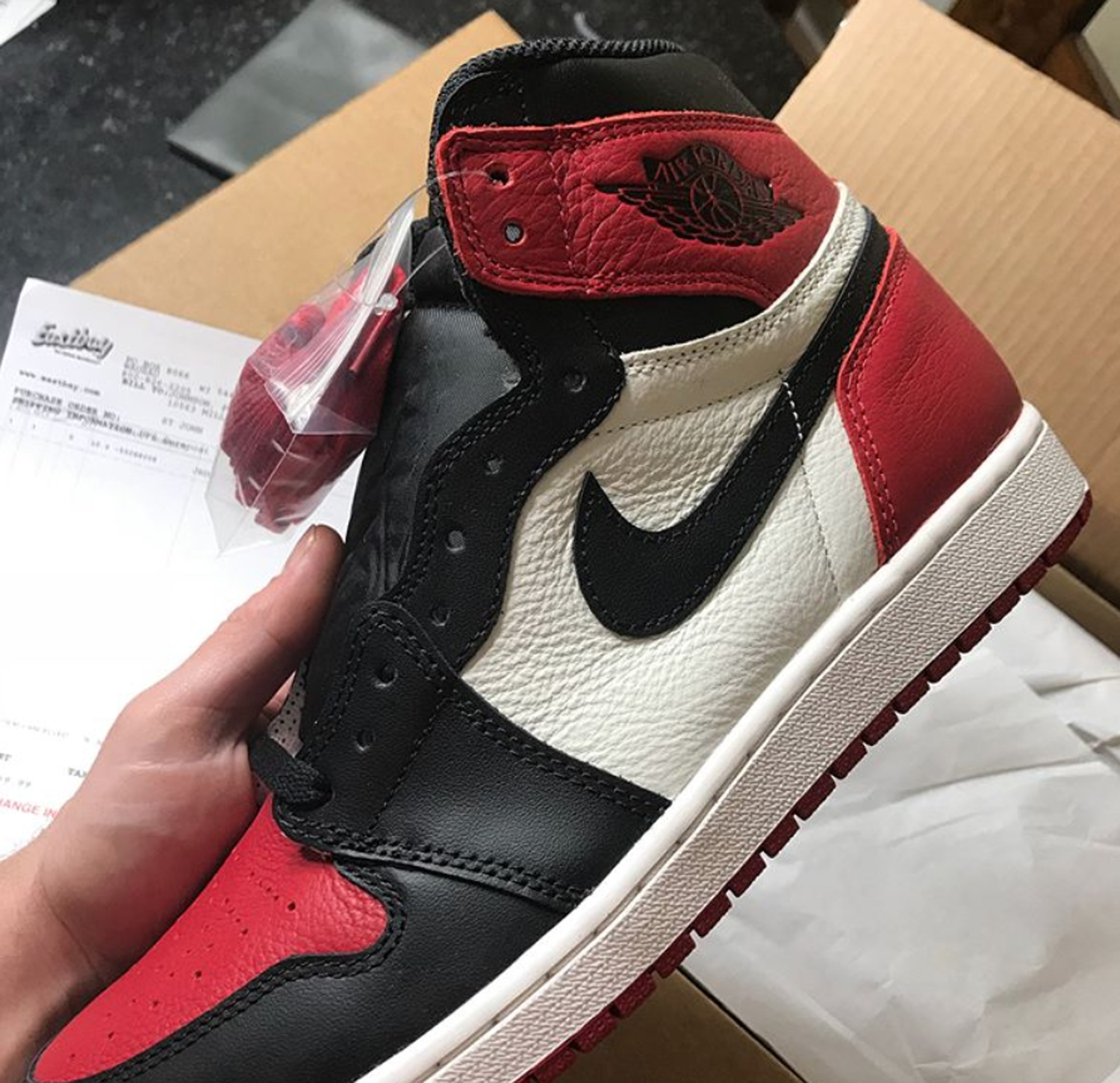 fantastic savings release date new style The Truth About the Guy That Received the Air Jordan 1 'Bred ...