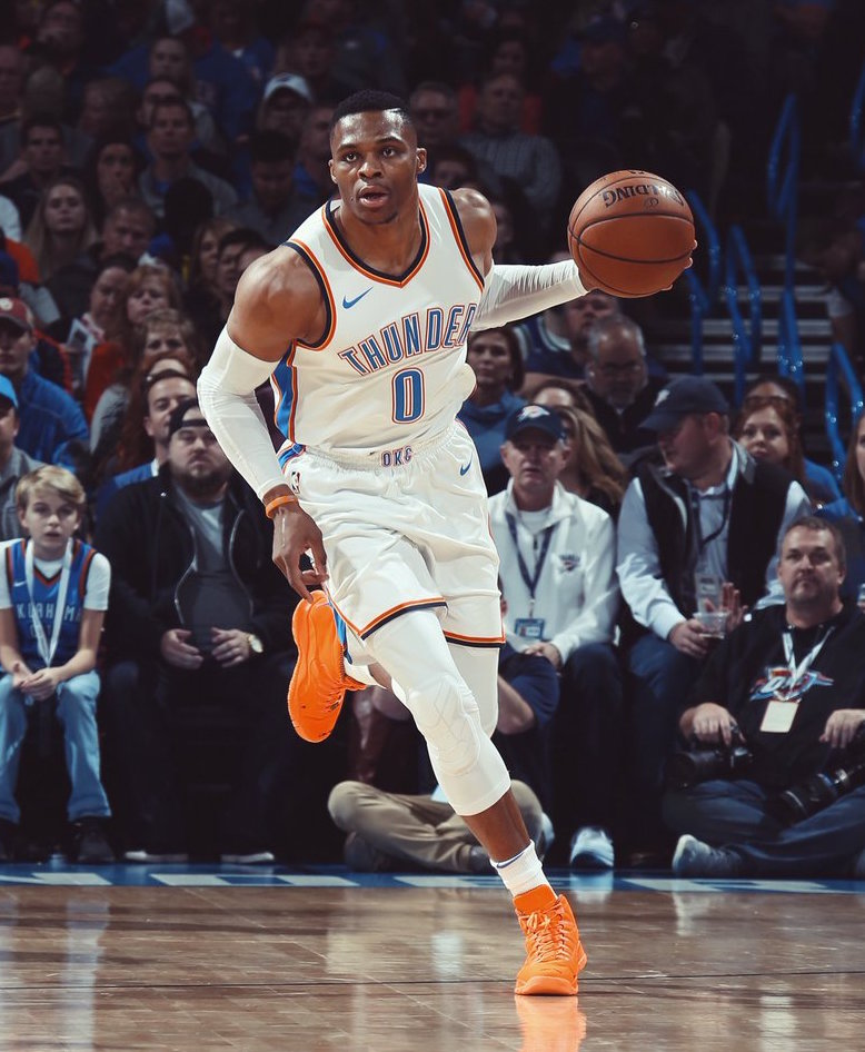 Russell Westbrook Showcases Air Jordan X PE On His 29th Birthday2