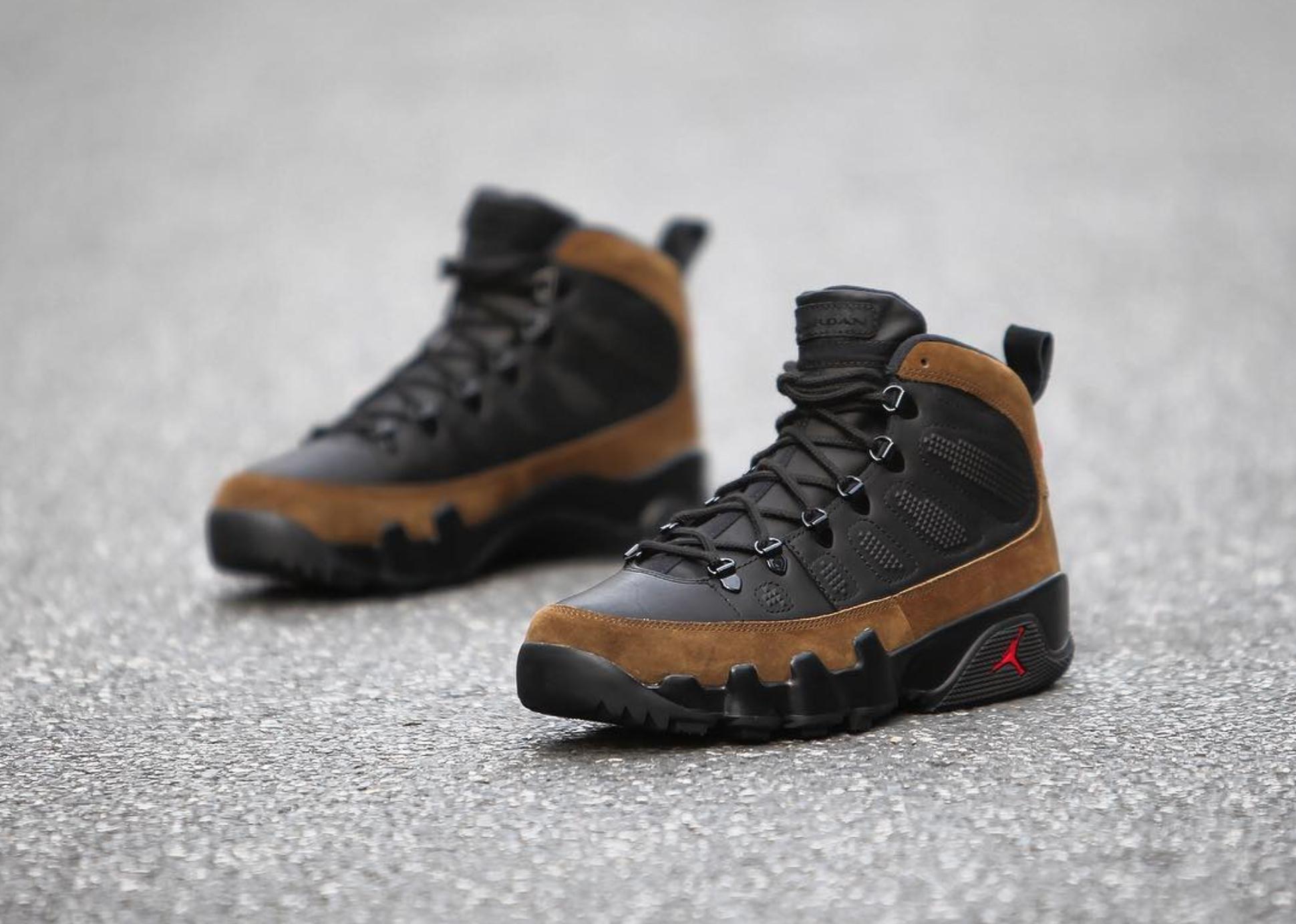 Winterized Air Jordan 9 NRG Boot 10