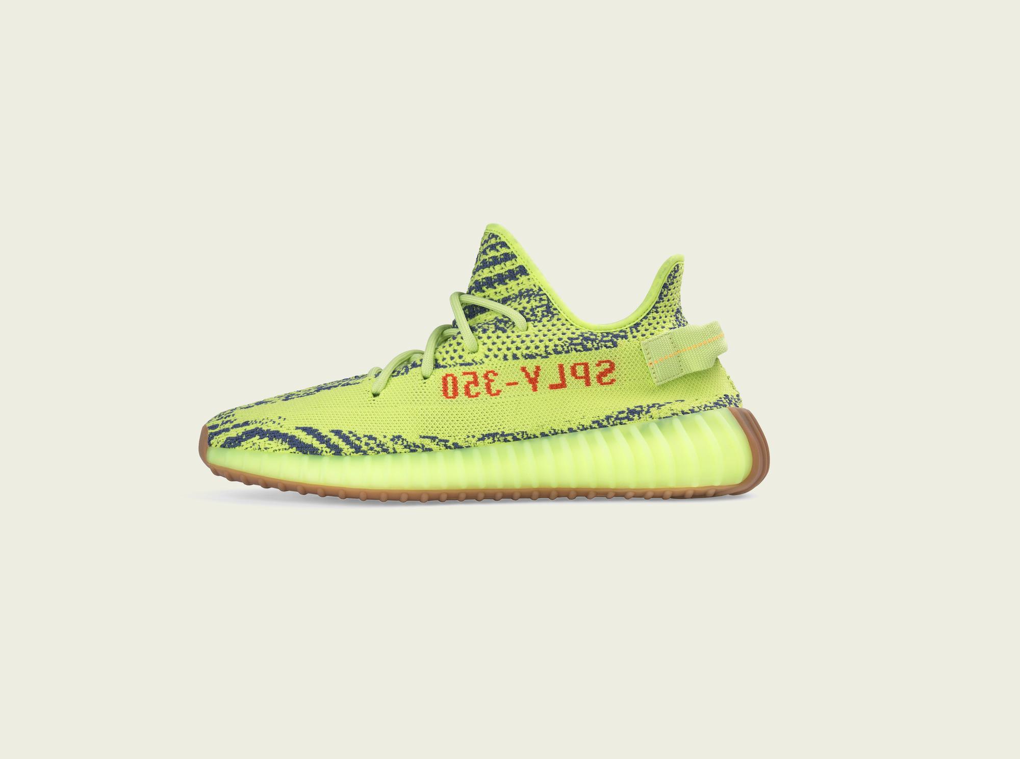 Yeezy Boost 350 V2 Semi Frozen Yellow 1