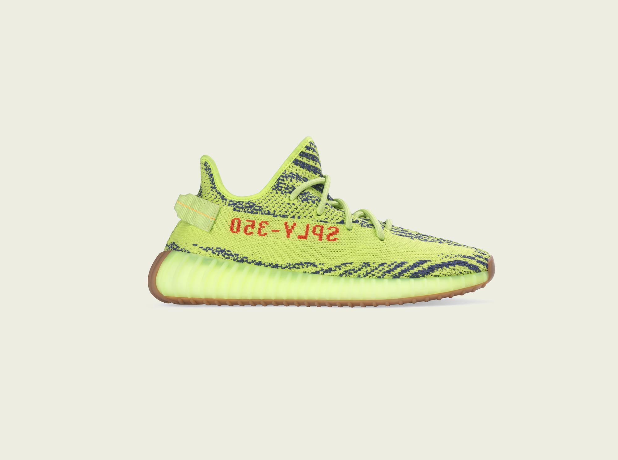Yeezy Boost 350 V2 Semi Frozen Yellow 4