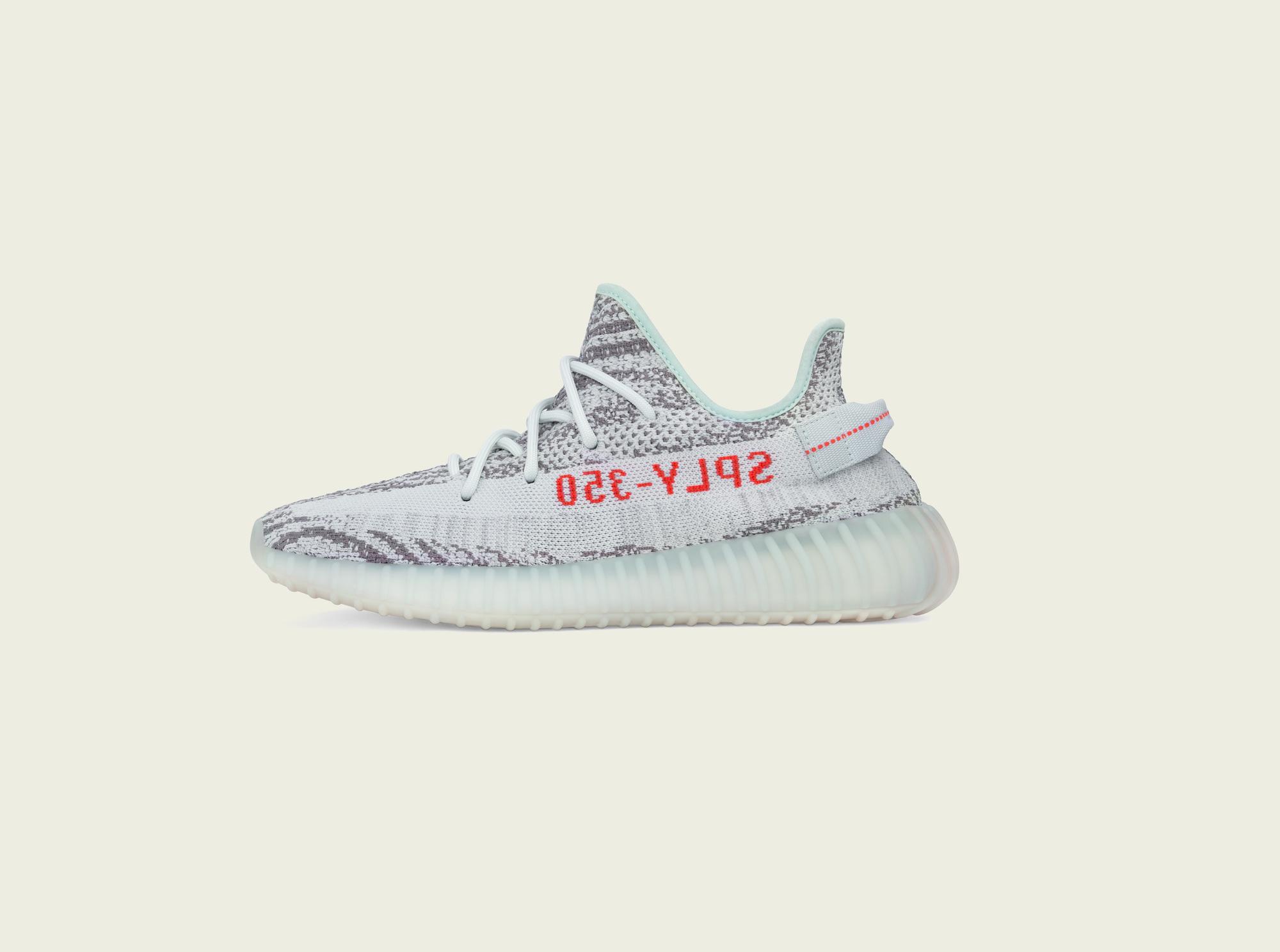 adidas Yeezy Boost 350 V2 Blue Tint 1