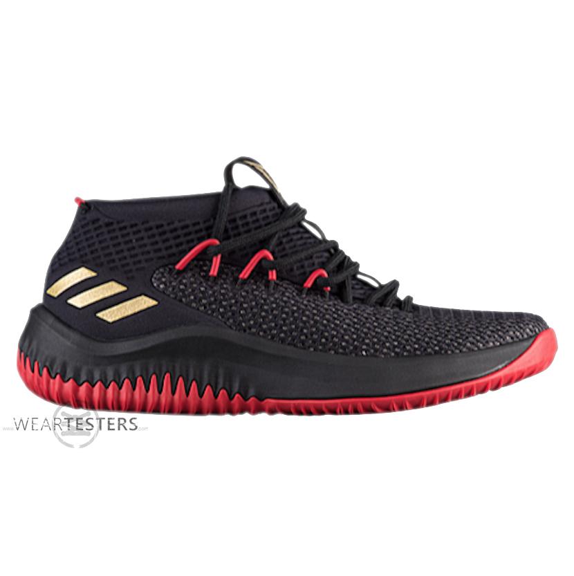 Black/Red adidas Dame 4 Releasing