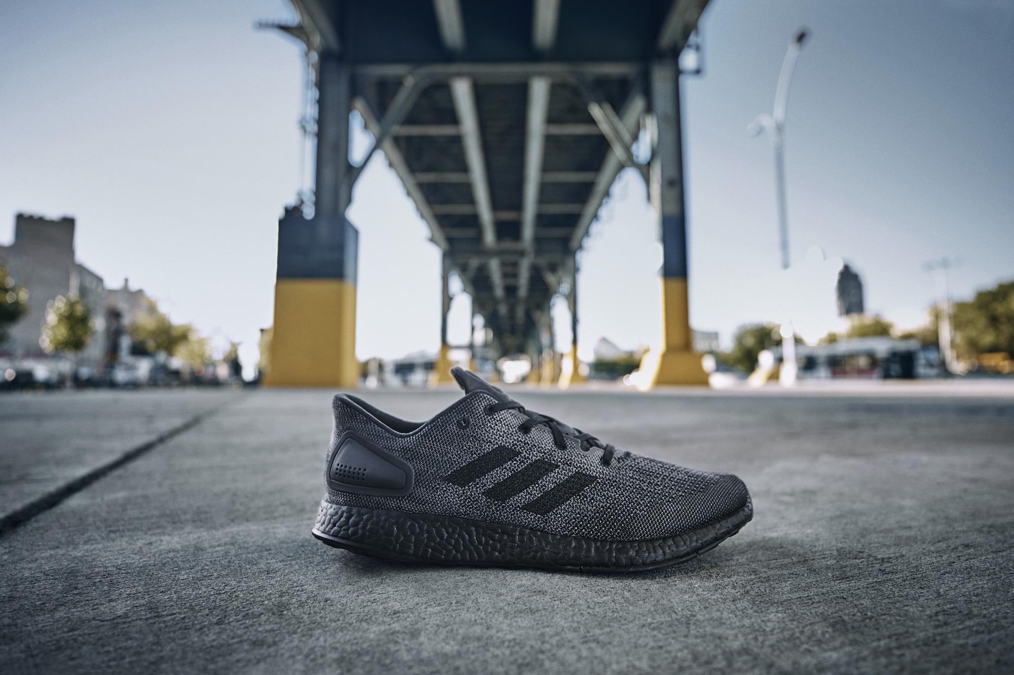 The adidas PureBoost DPR Triple Black