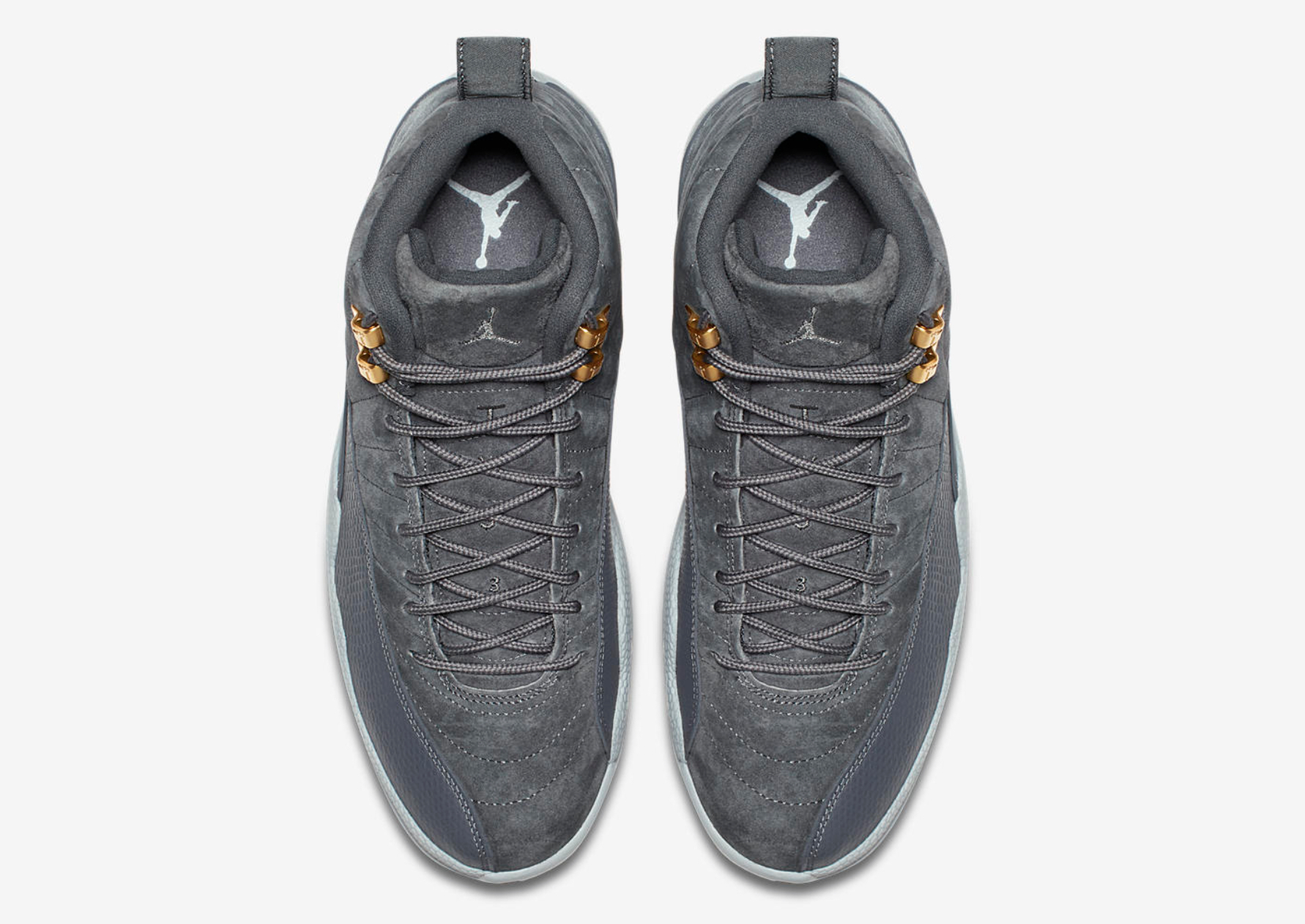 air jordan 12 dark grey 5