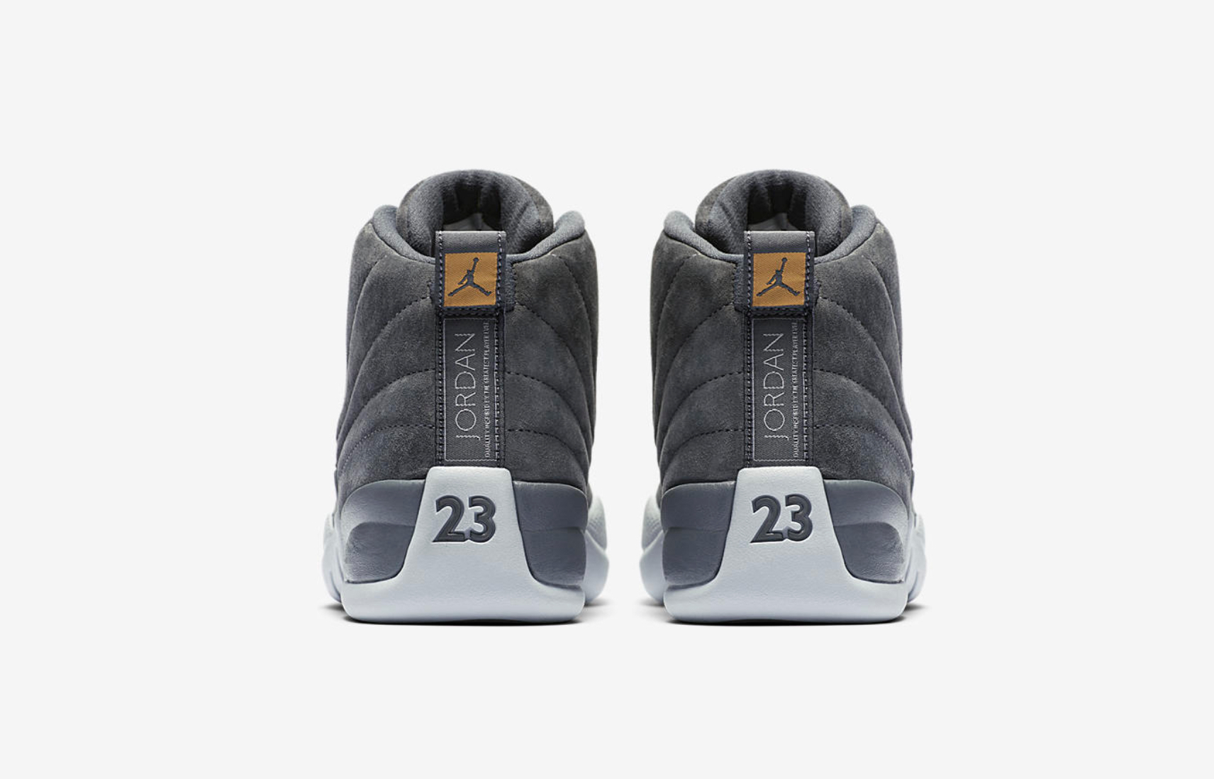 air jordan 12 dark grey 6