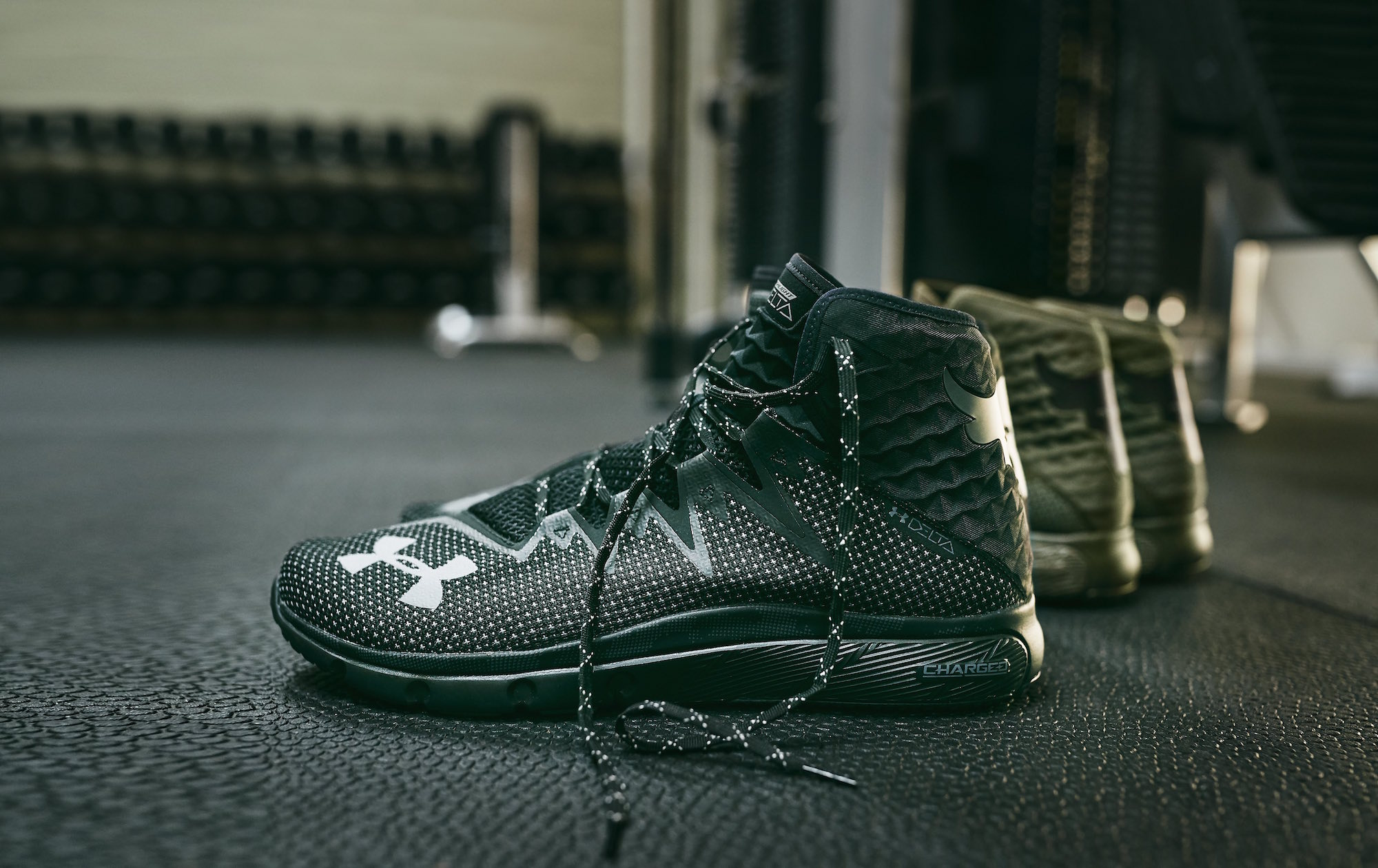 DWAYNE JOHNSON project rock USDNA collection Under armour rock delta 1