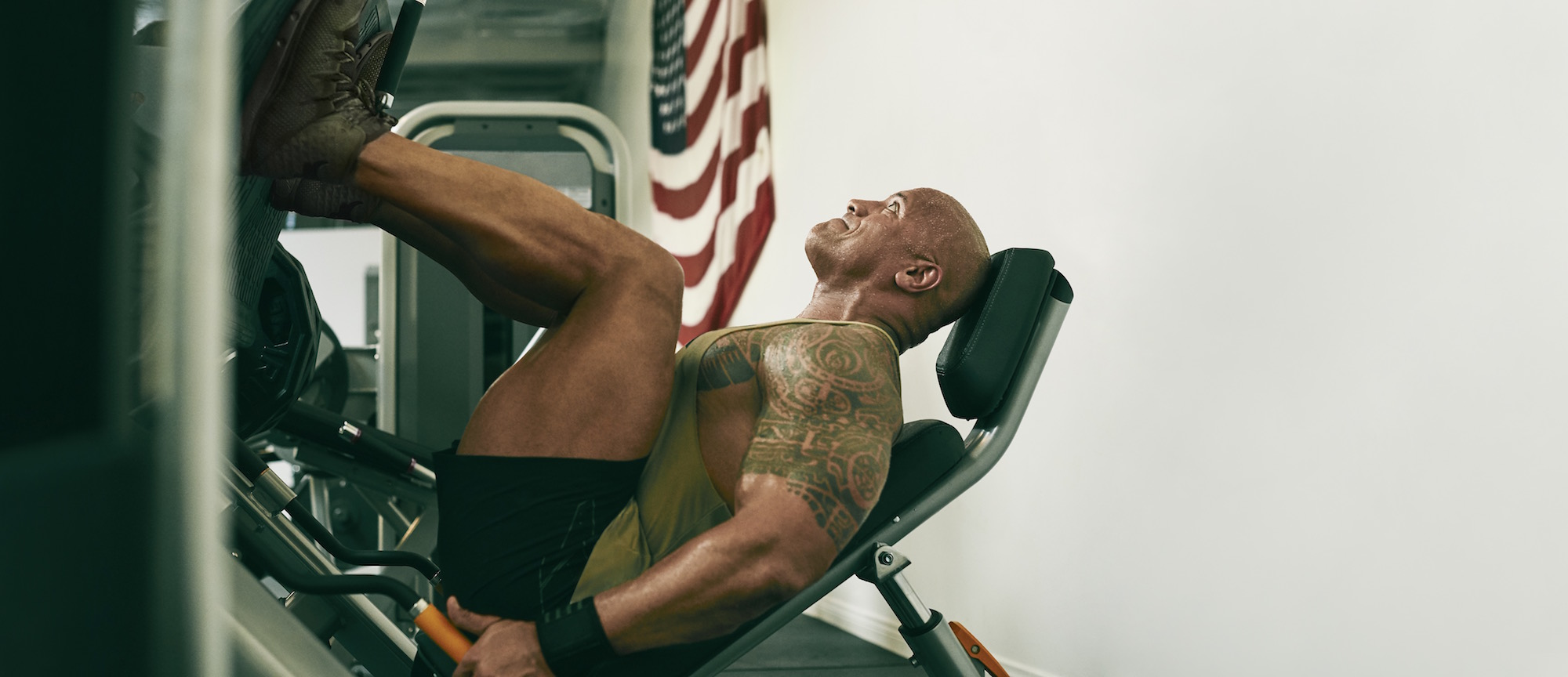 dwayne johnson project rock USDNA collection Under armour rock delta 4