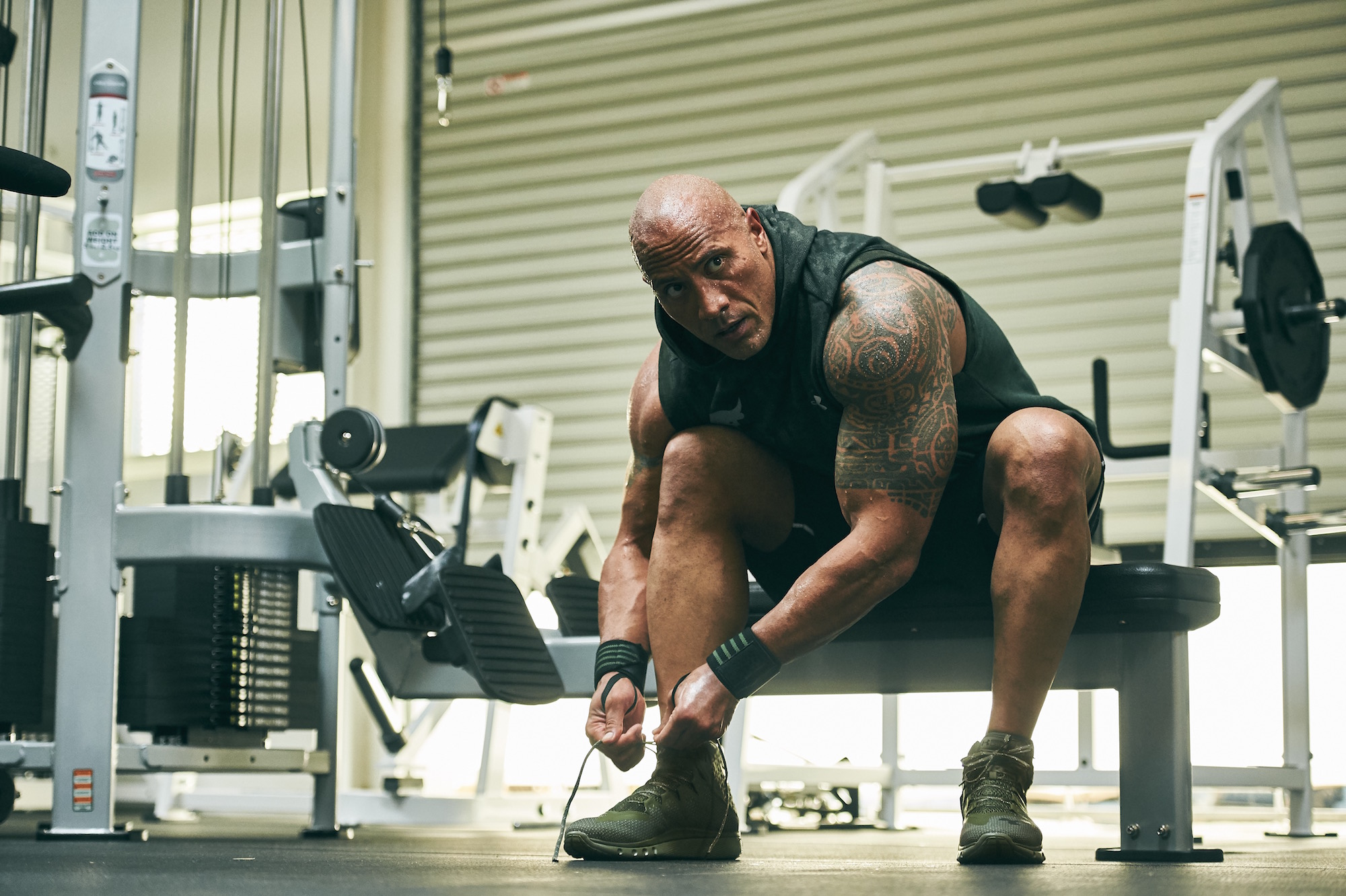 dwayne johnson project rock USDNA collection Under armour rock delta 5