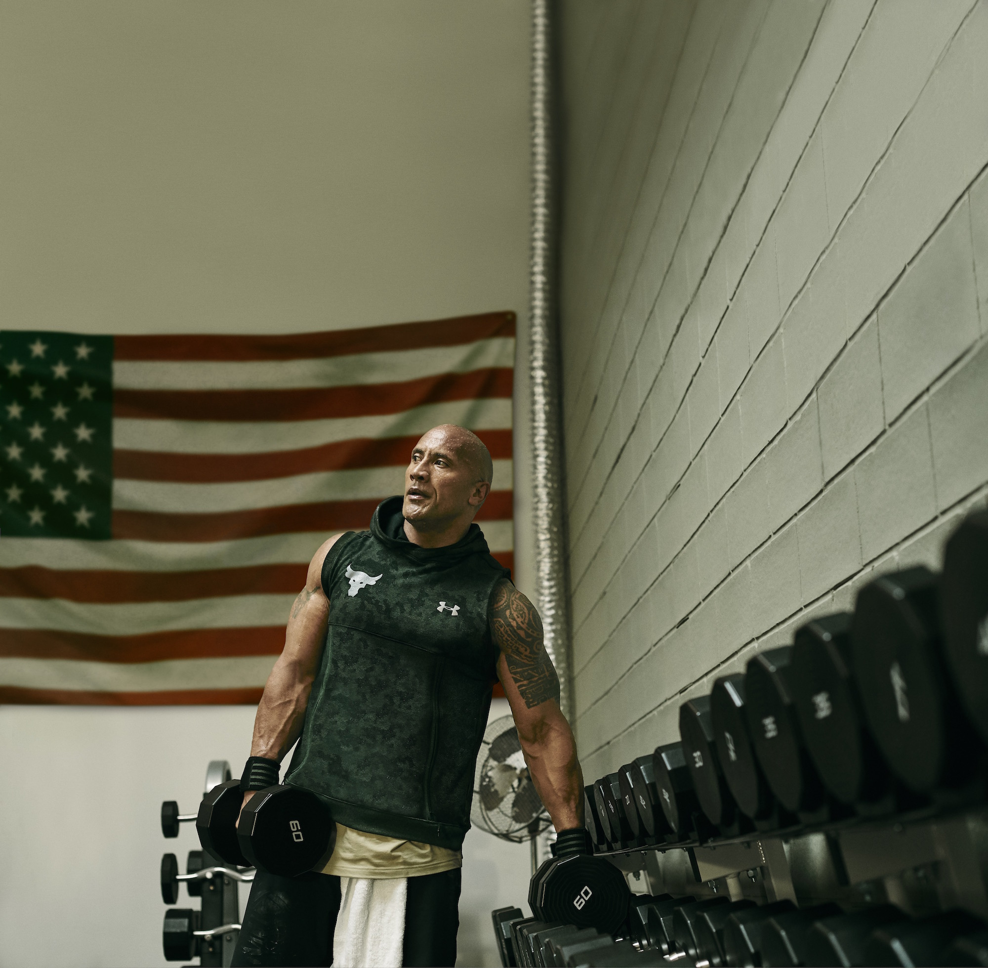 dwayne johnson project rock USDNA collection under armour 11