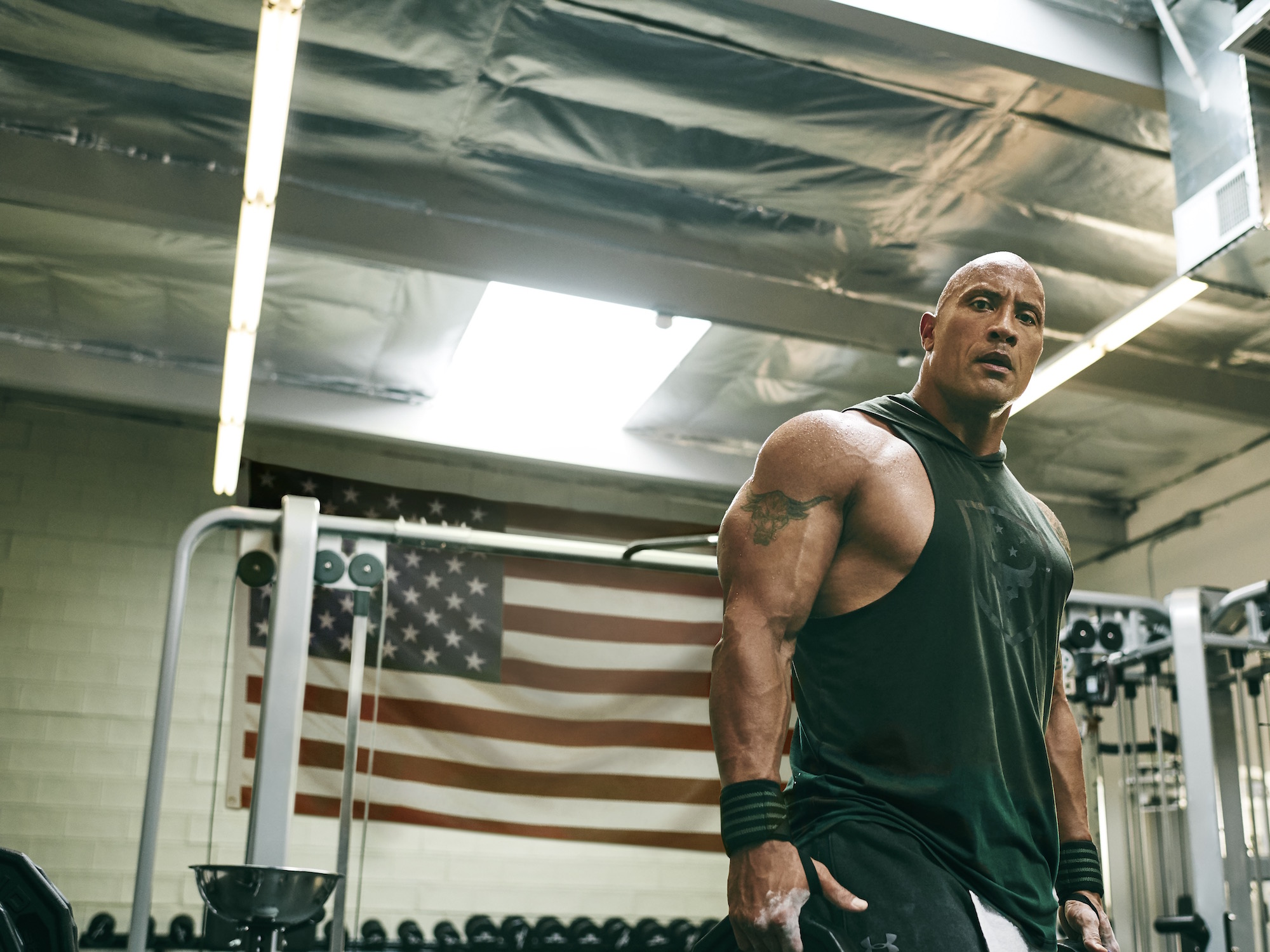 dwayne johnson project rock USDNA collection under armour 12