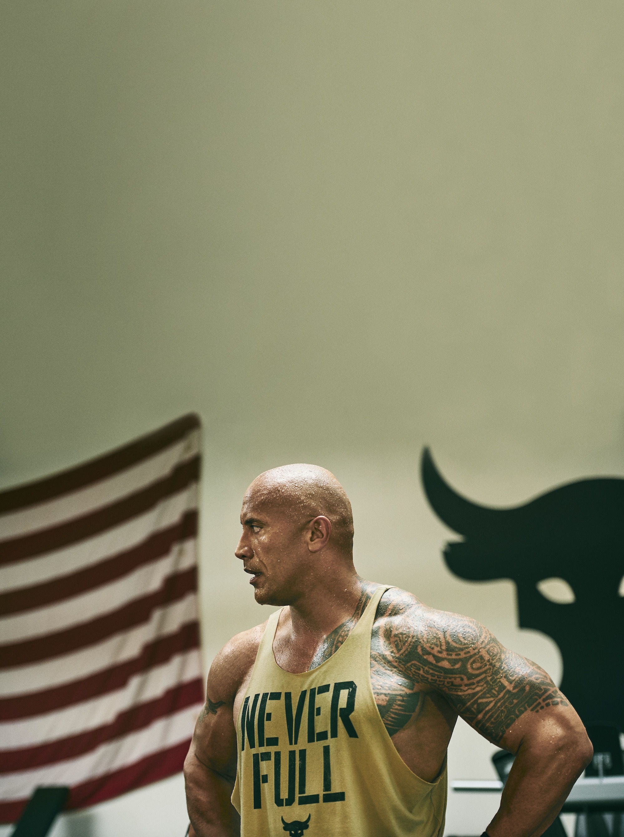 dwayne johnson project rock USDNA collection under armour 13
