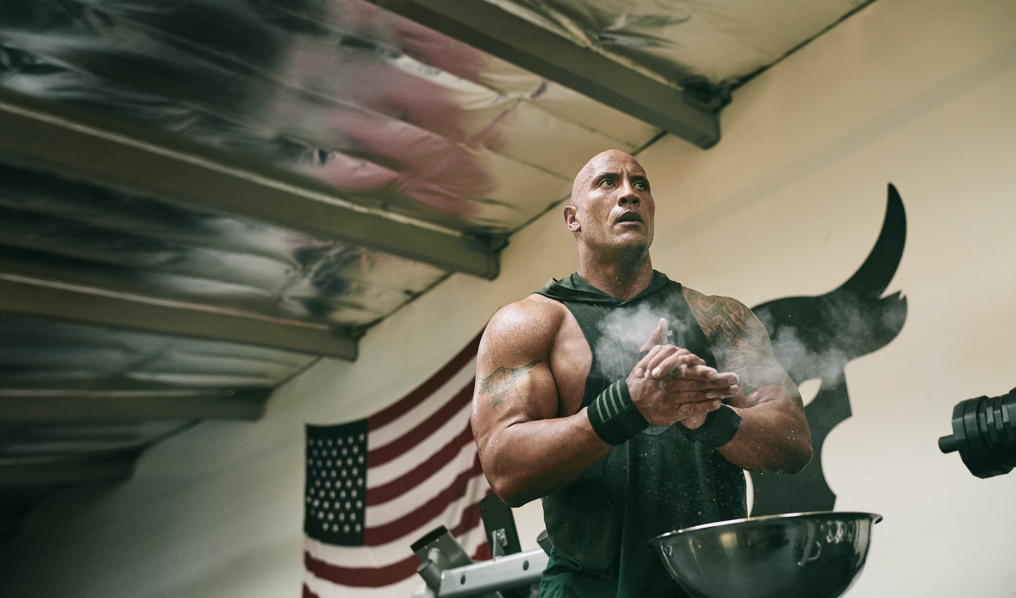 dwayne johnson project rock USDNA collection under armour 16