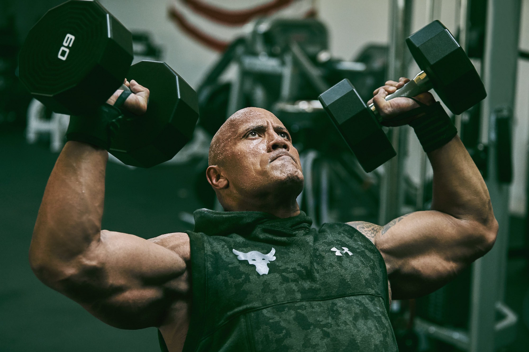 dwayne johnson project rock USDNA collection under armour 4