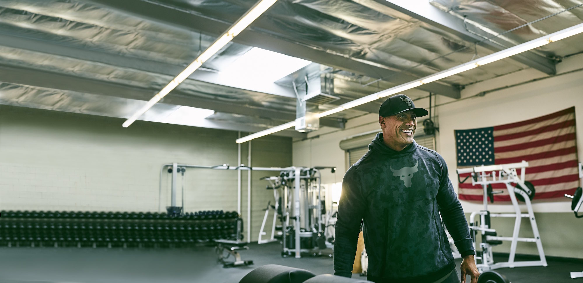 dwayne johnson project rock USDNA collection under armour 6
