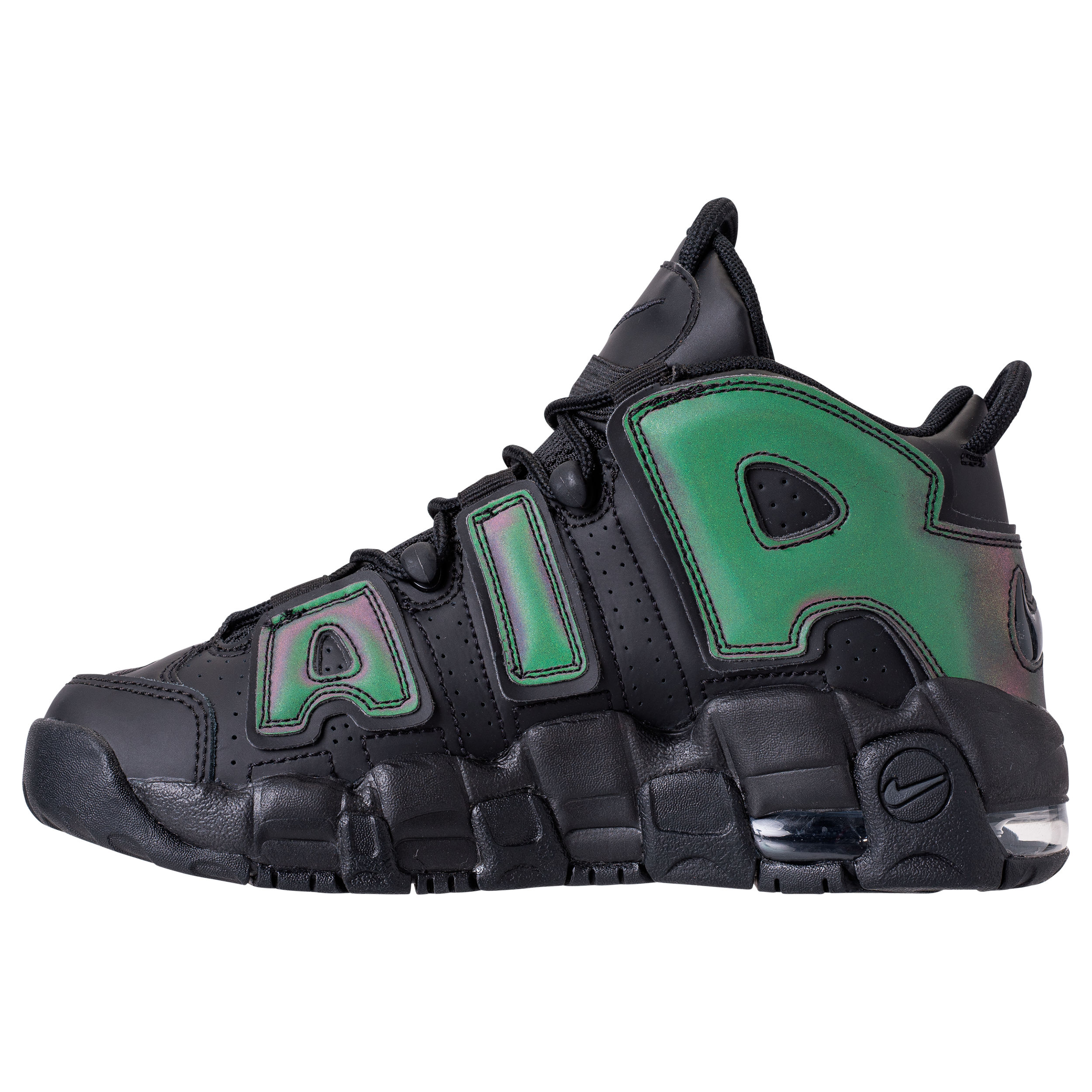 nike air more uptempo reflective iridescent 3