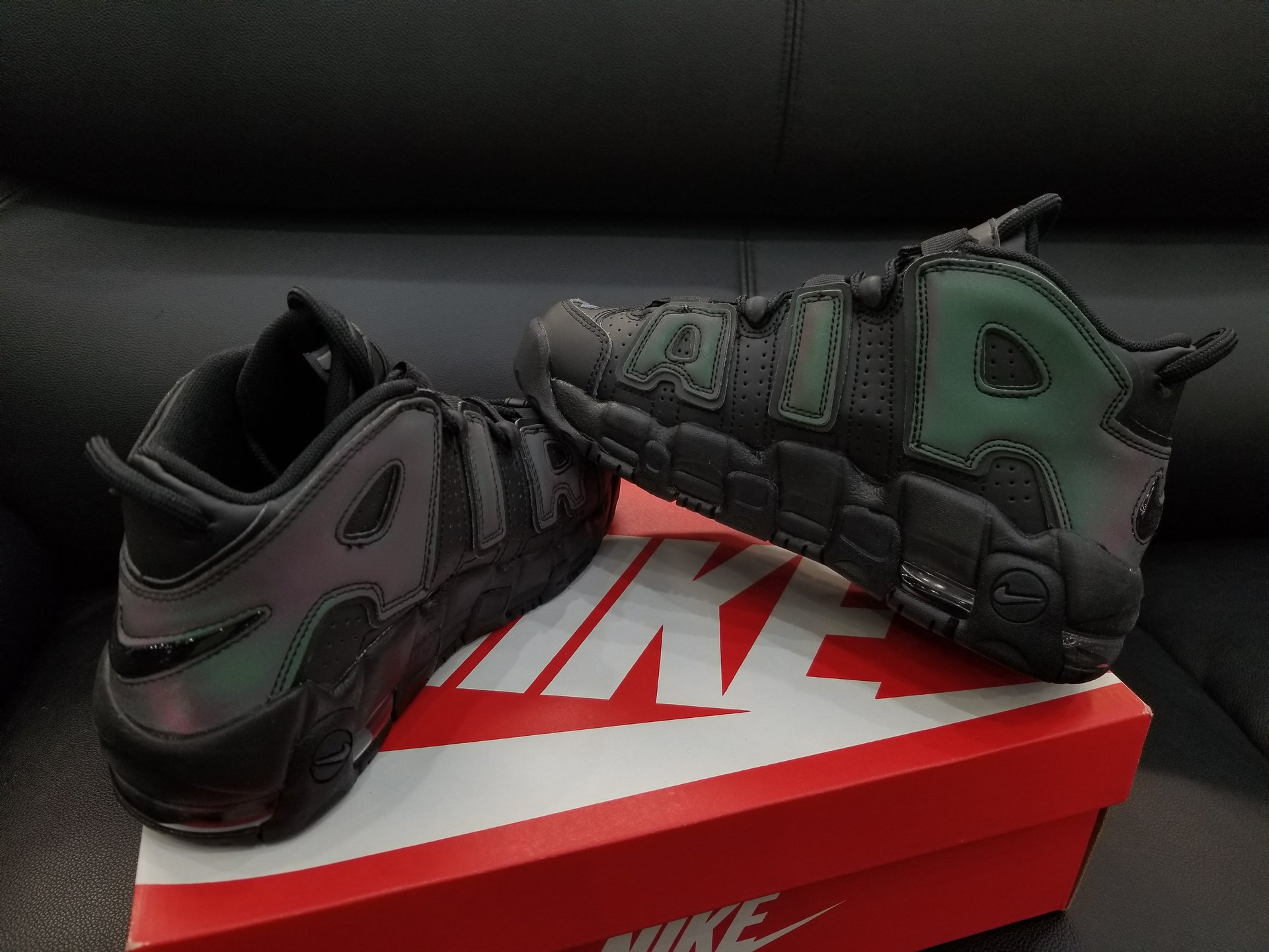 nike air more uptempo reflective iridescent 4