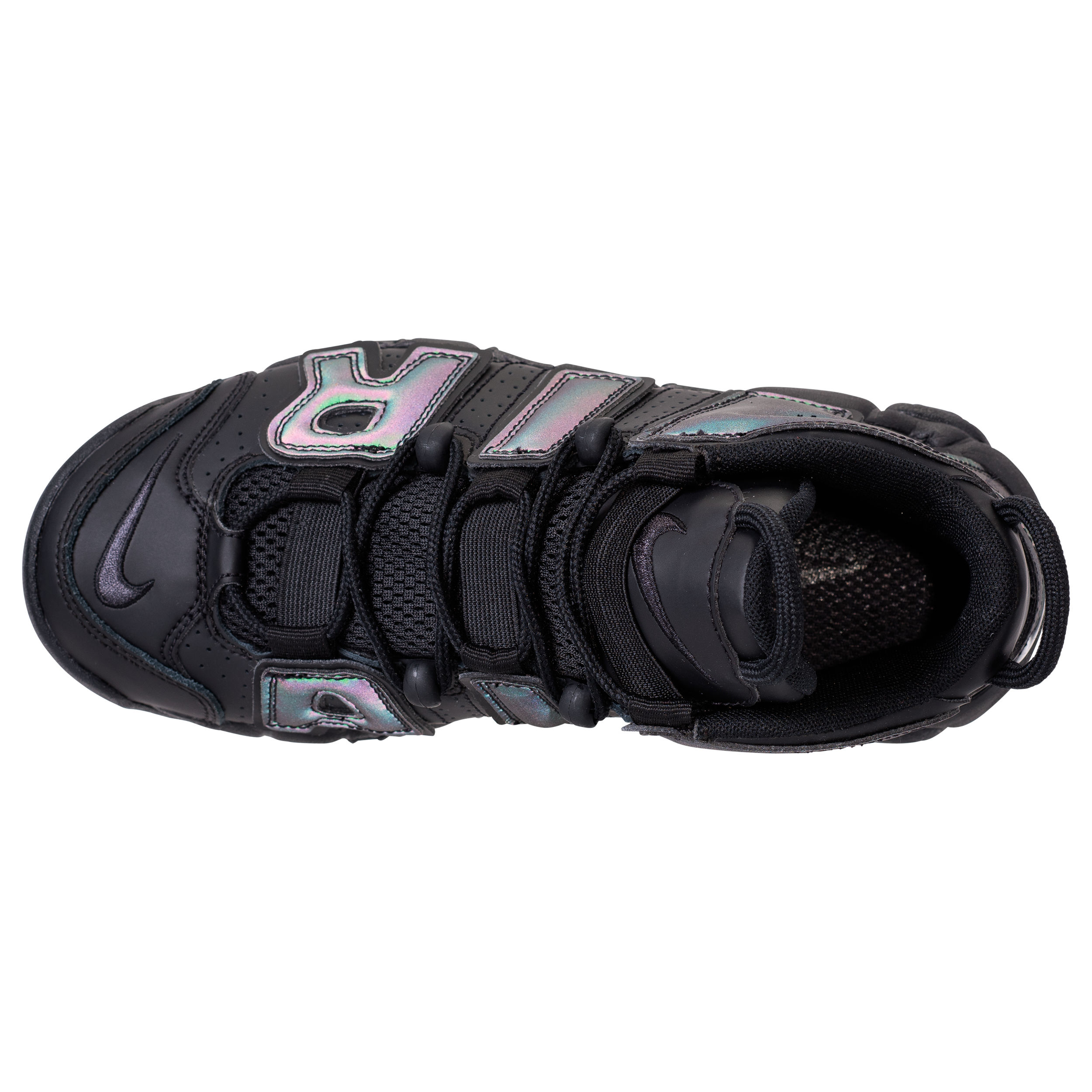 nike air more uptempo reflective iridescent 6