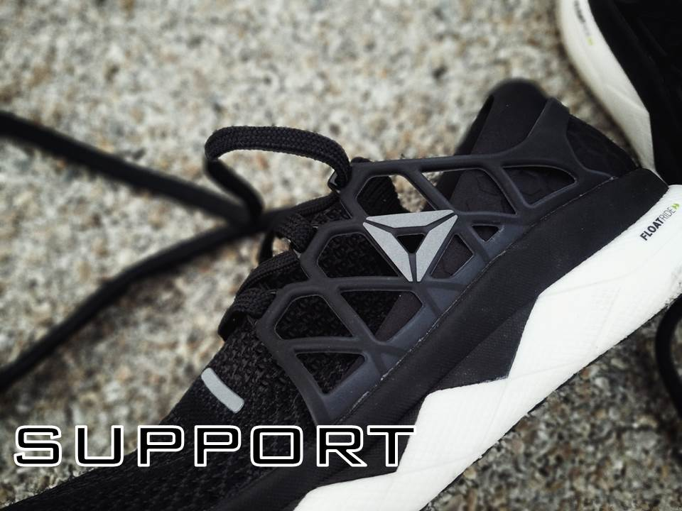reebok floatride run performance review support