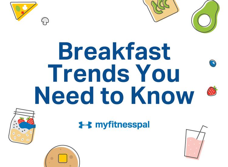 ua myfitnesspal breakfast trends