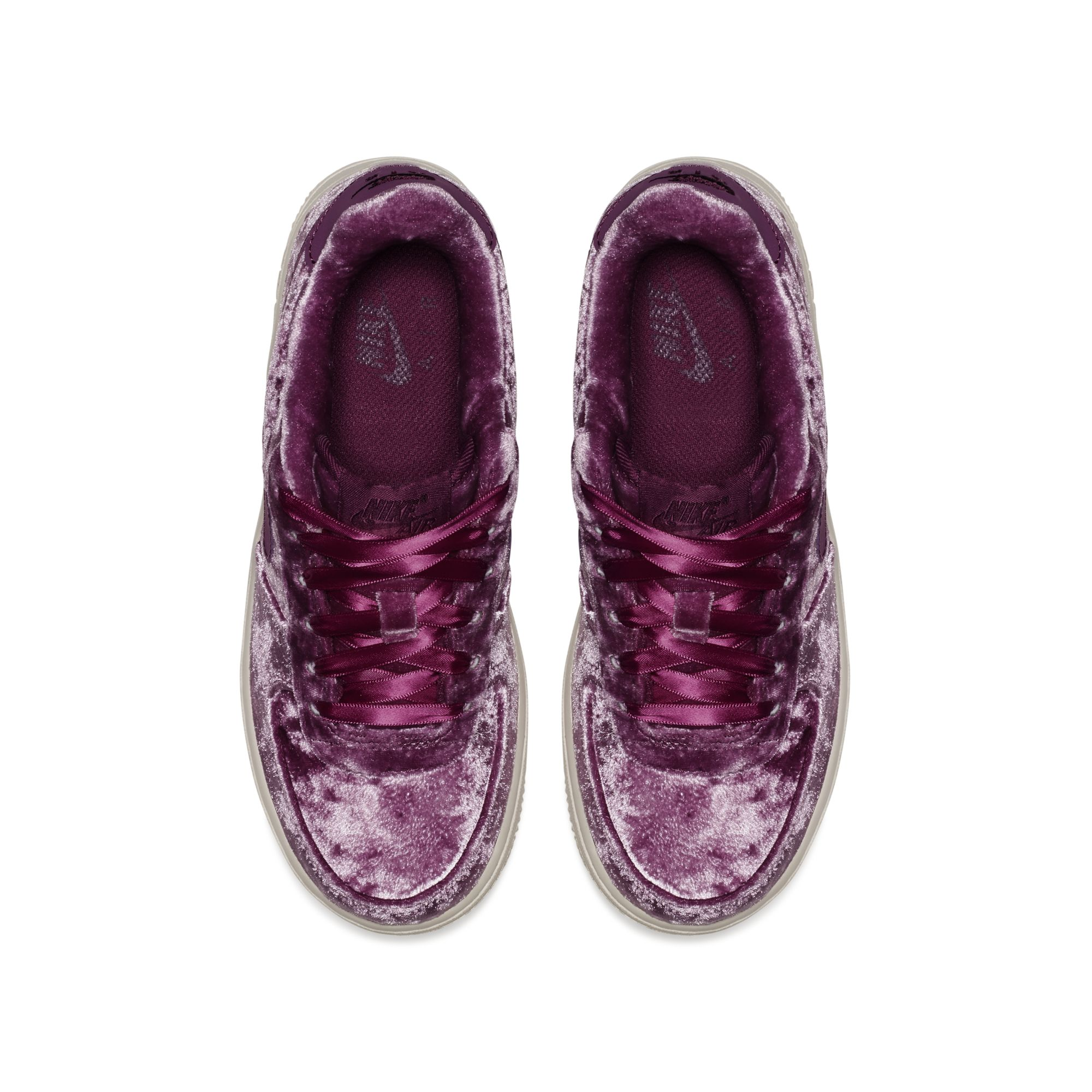 velour nike air force 1 tea berry 3