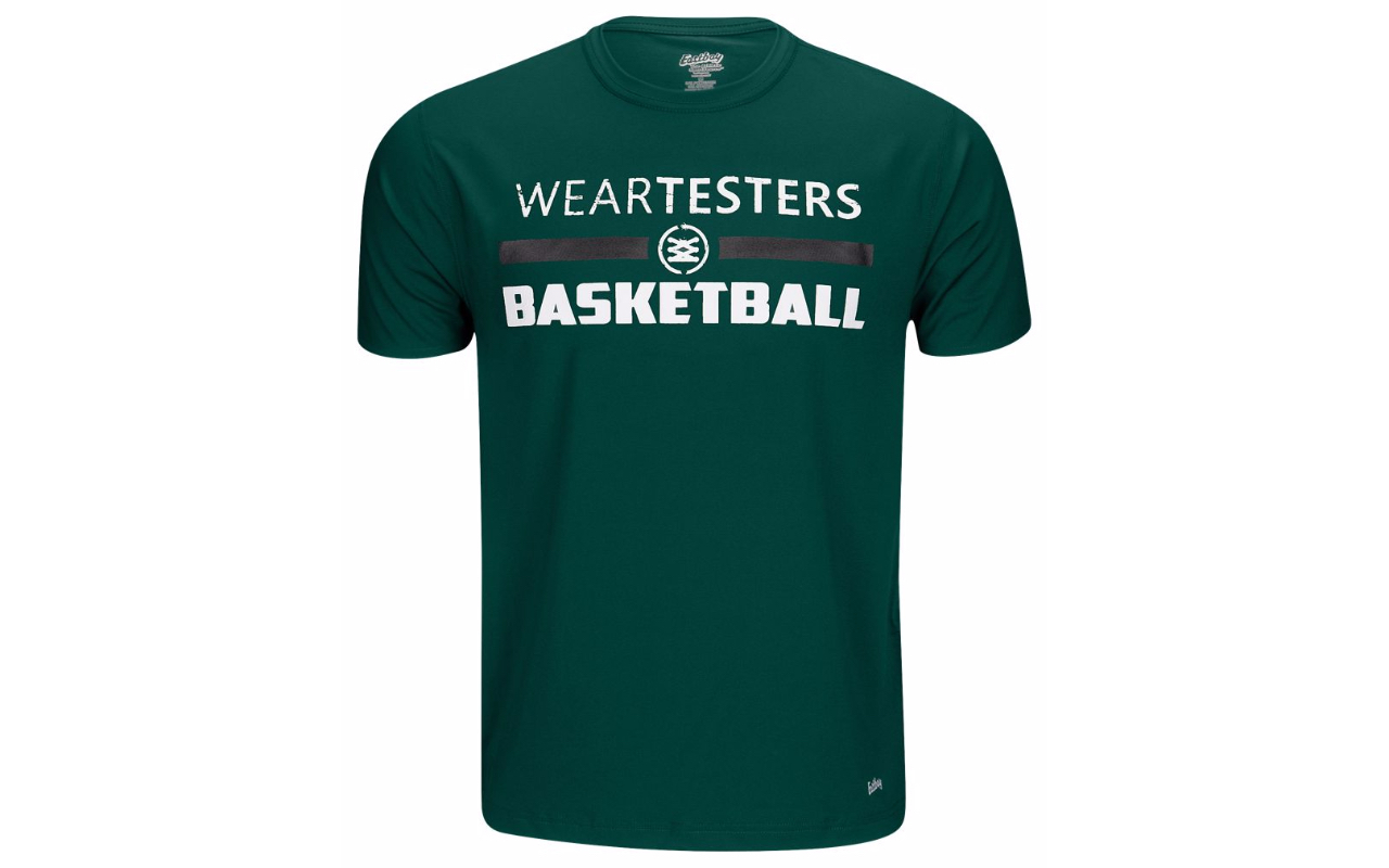 weartesters starting 5 logo t shirt 3