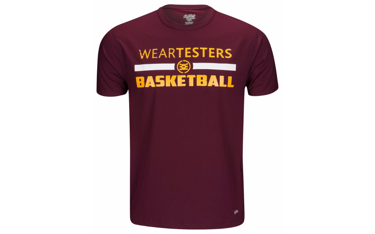 weartesters starting 5 logo t shirt 4