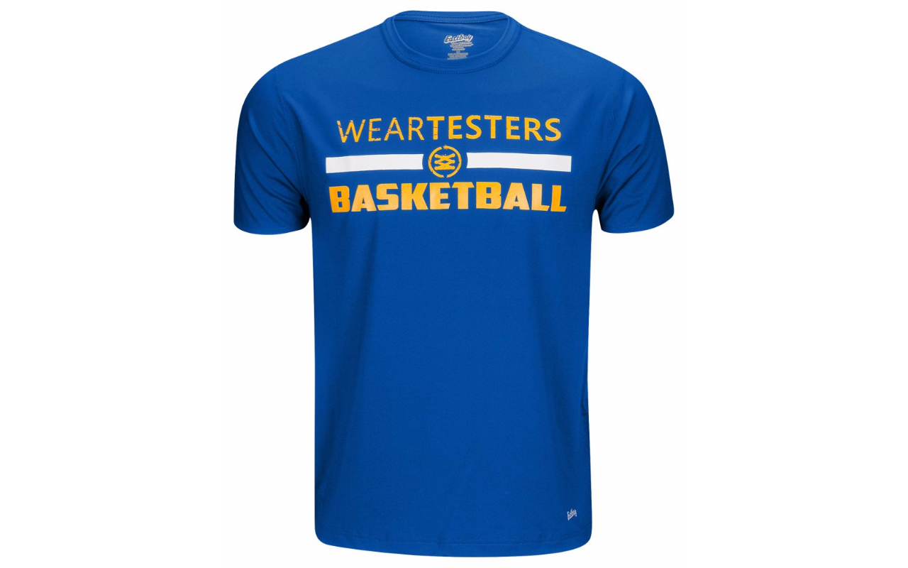 weartesters starting 5 logo t shirt 5