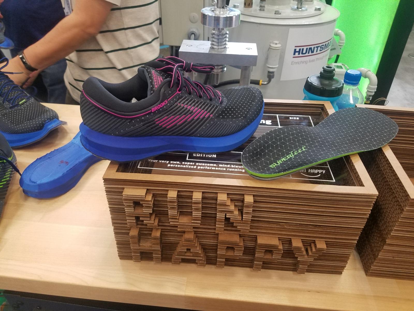 Brooks levitate custom running footwear 4