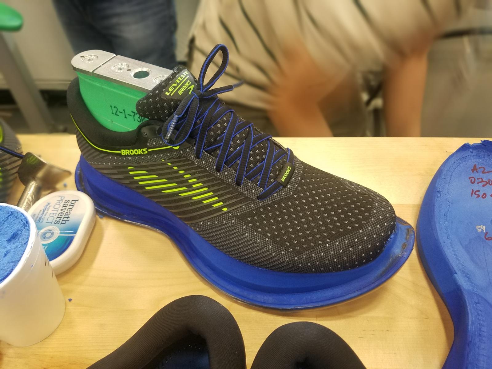 Brooks levitate custom running footwear 3