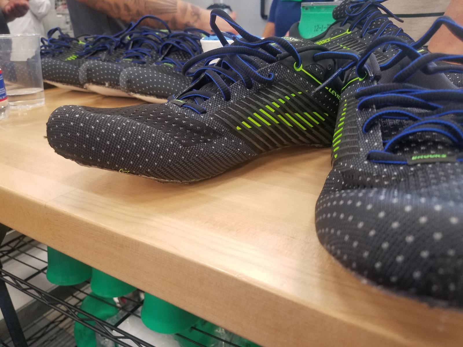 Brooks levitate custom running footwear 2