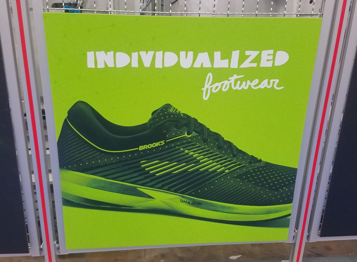 Brooks levitate custom running footwear