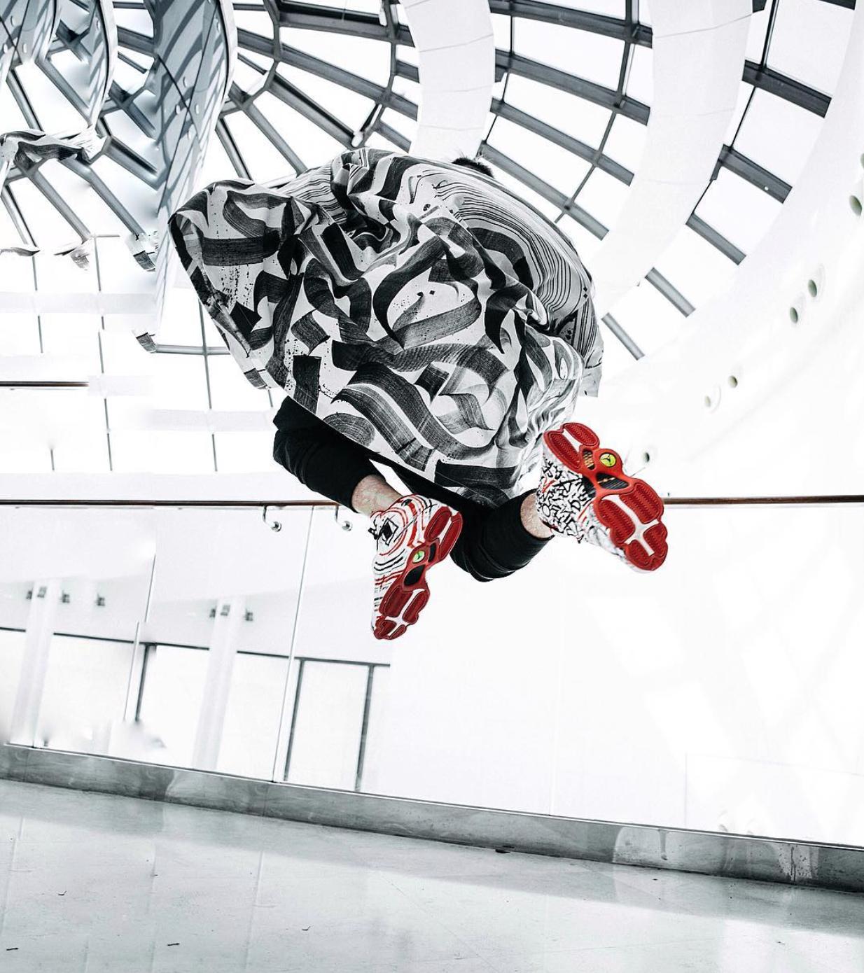 Air Jordan 13 CALLIGRAFUTURISM Custom Pokras Lampas 3