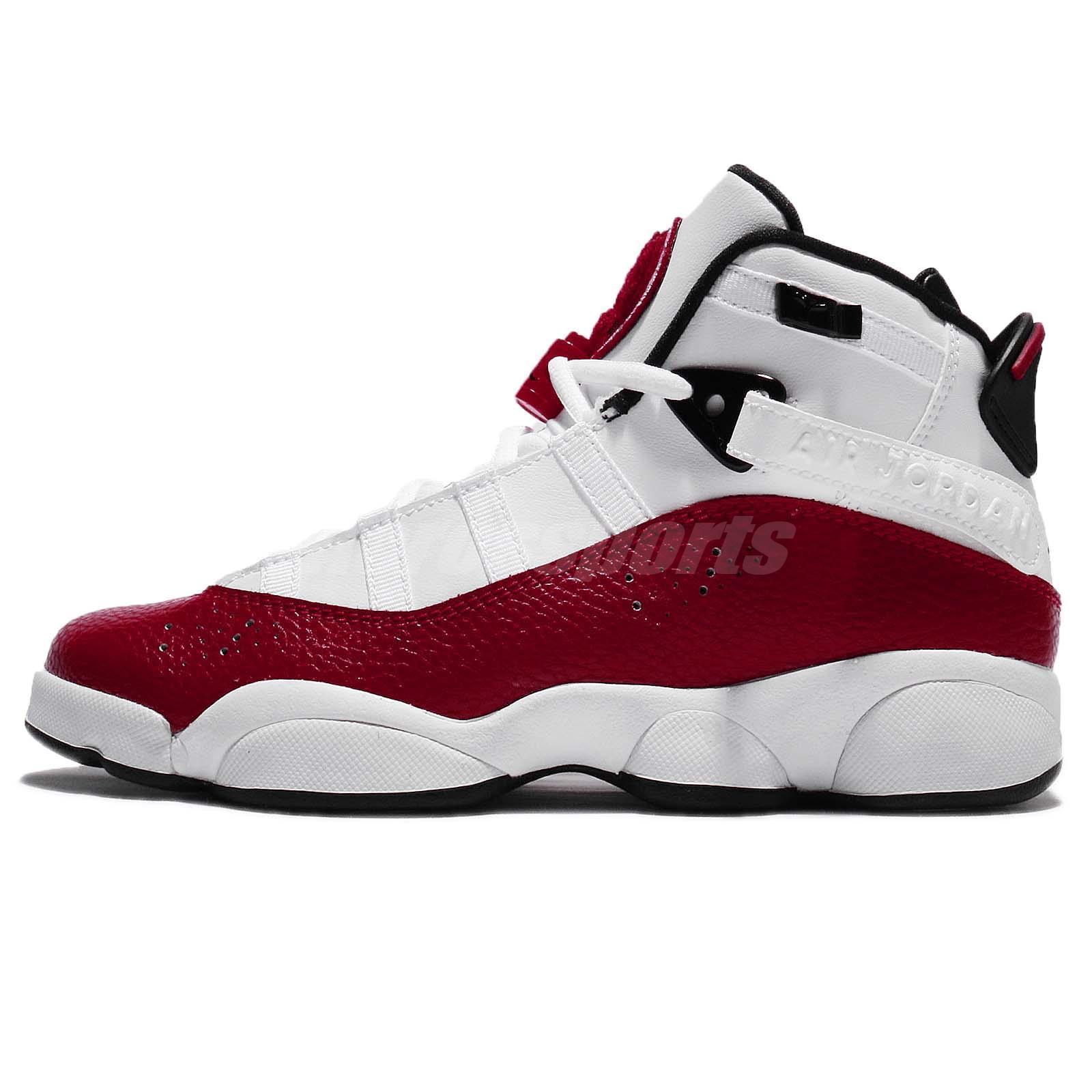 premium selection 949d3 4fa9b Air-Jordan-6-Rings-2018-White-Red-1 - WearTesters