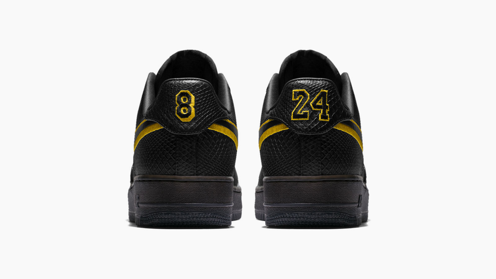 Kobe bryant black mamba air force 1 1