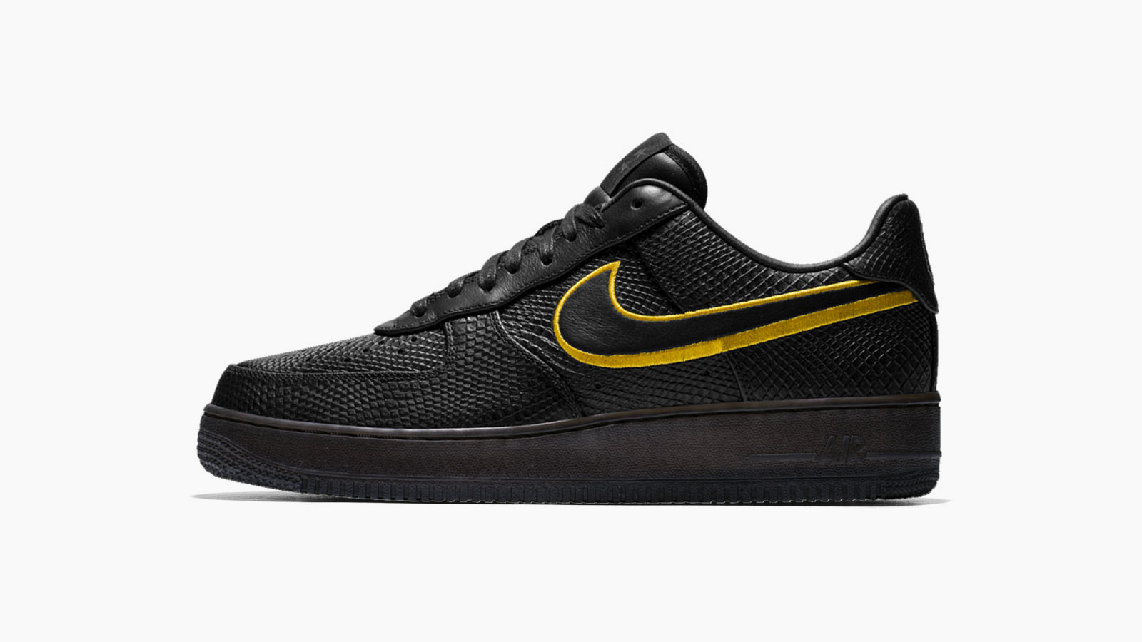 Kobe bryant black mamba air force 1 3