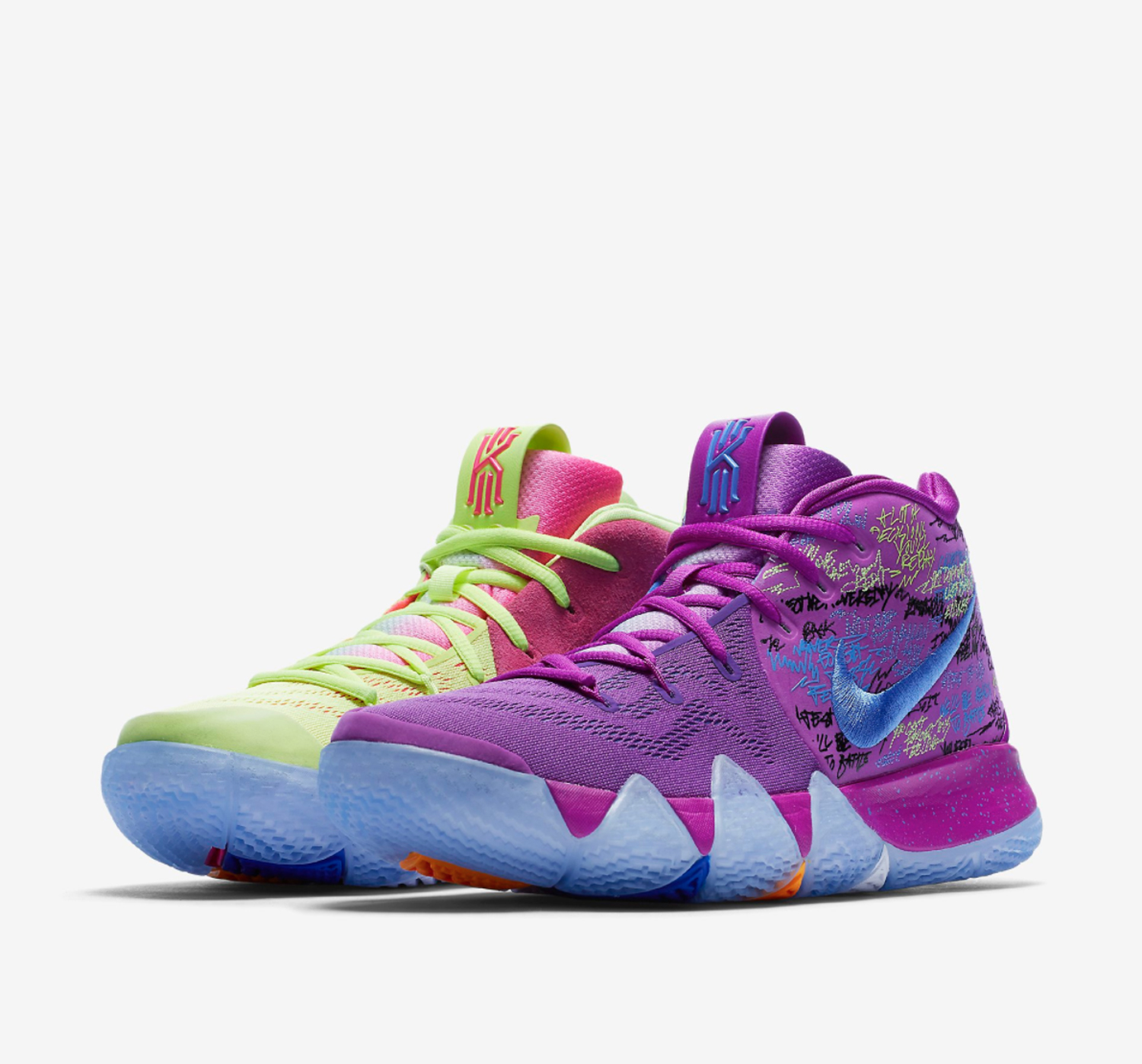 all kyrie 4 shoes