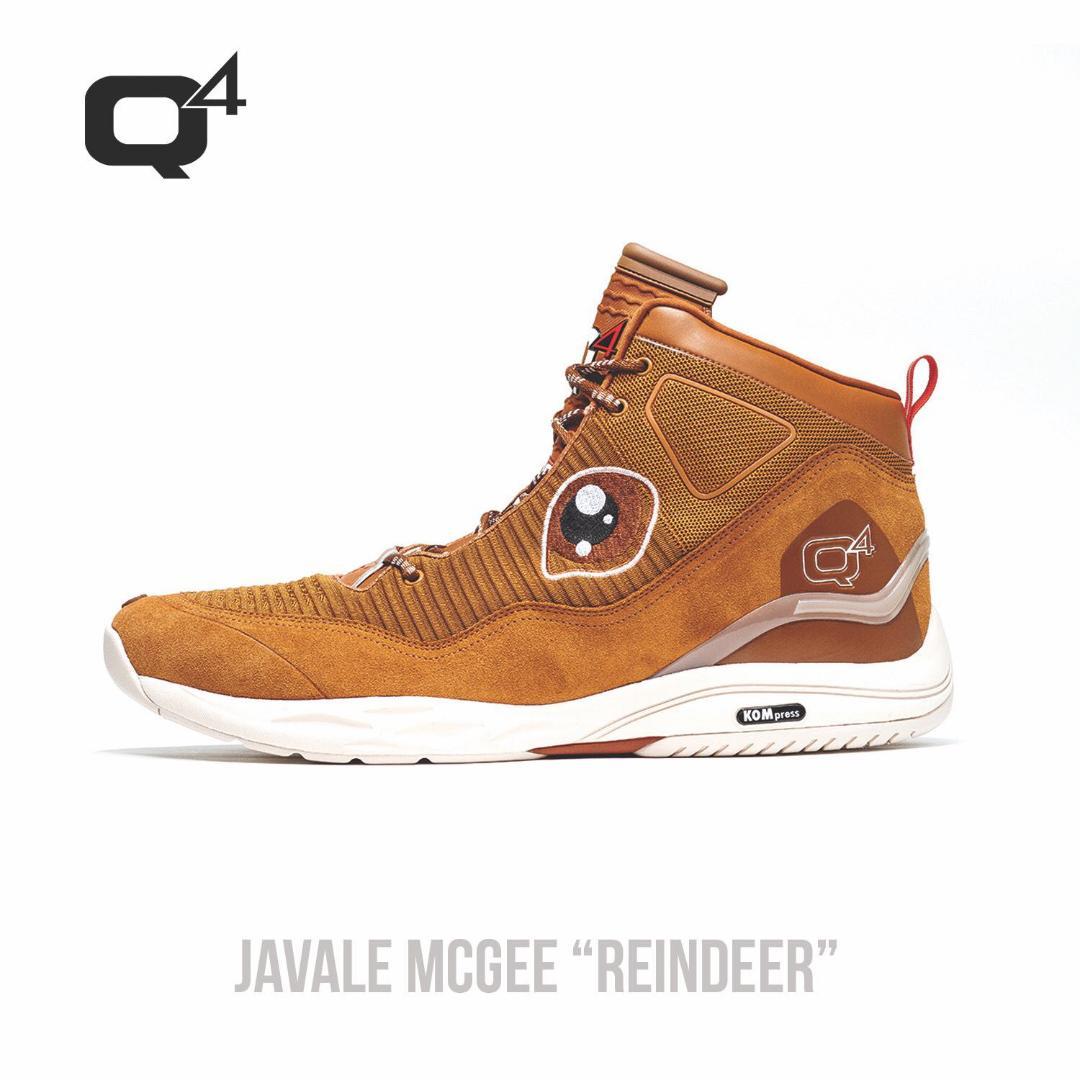 Q4 Sports 495 Hi Javale McGee Reindeer PE