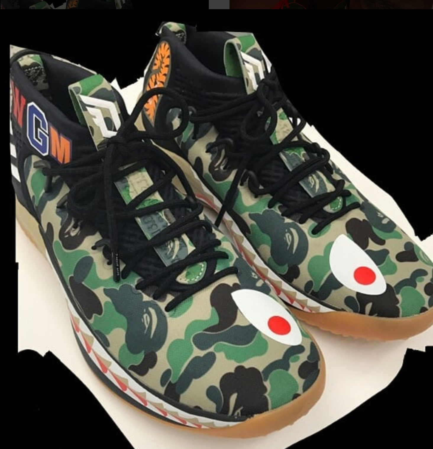 the best attitude ac1c0 8239d This Could Be One of the BAPE Dame 4 Colorways - WearTesters