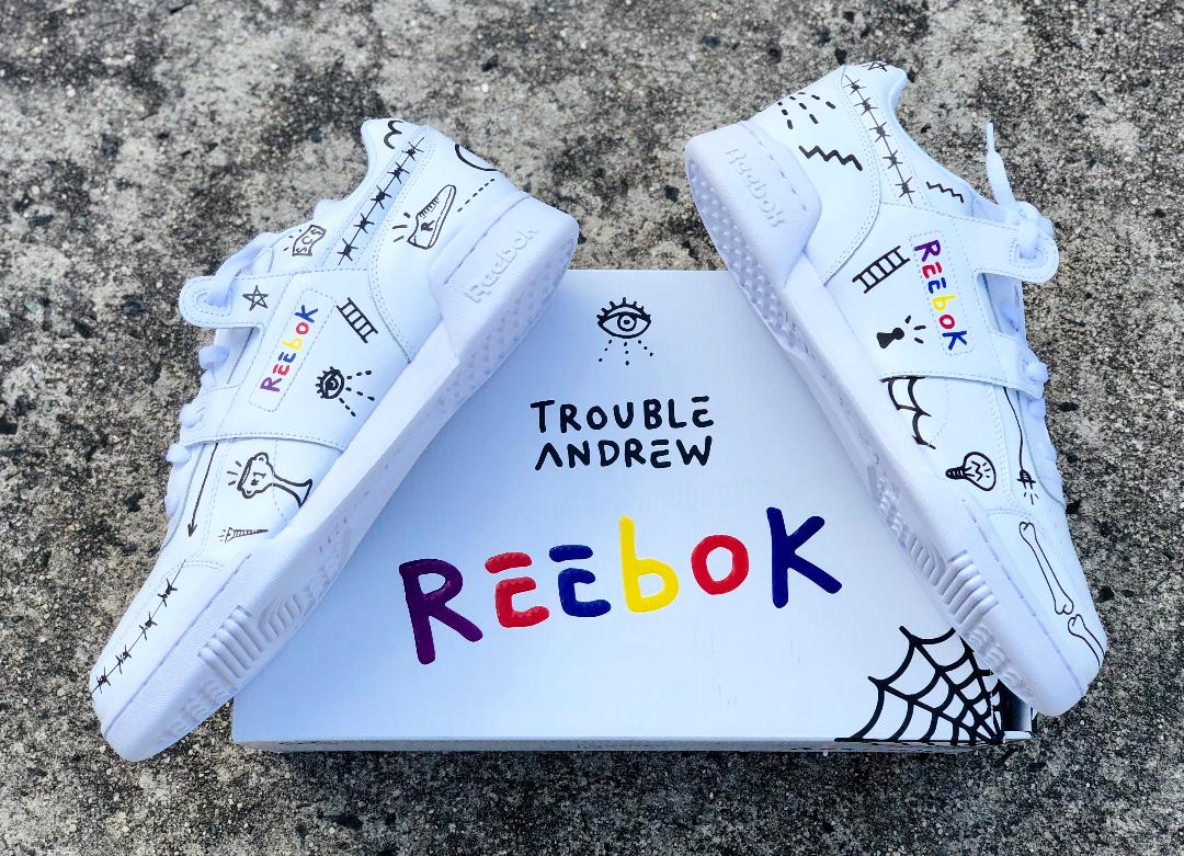 Trevor trouble andrew Reebok workout 3AM 1