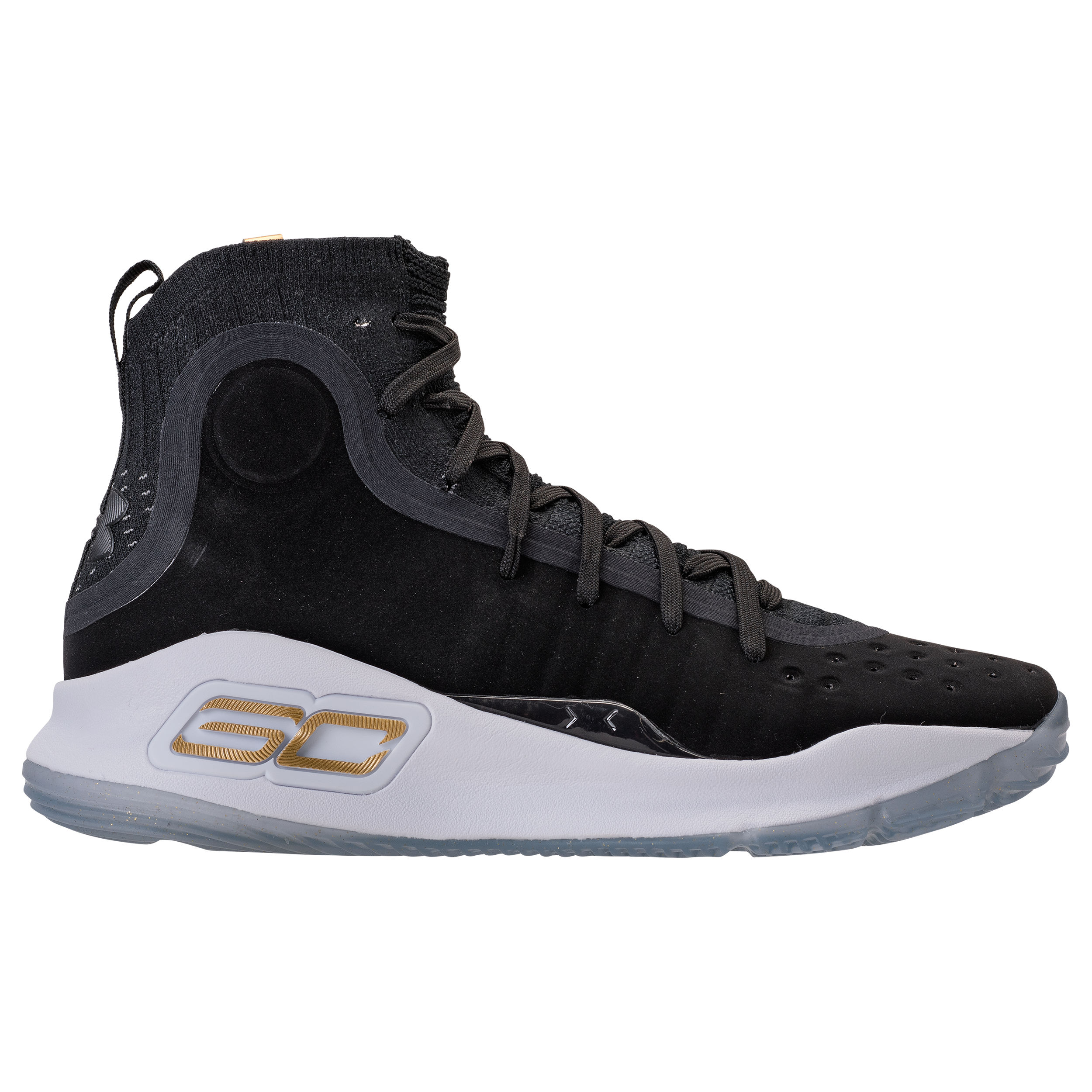 Under armour curry 4 black gold 2
