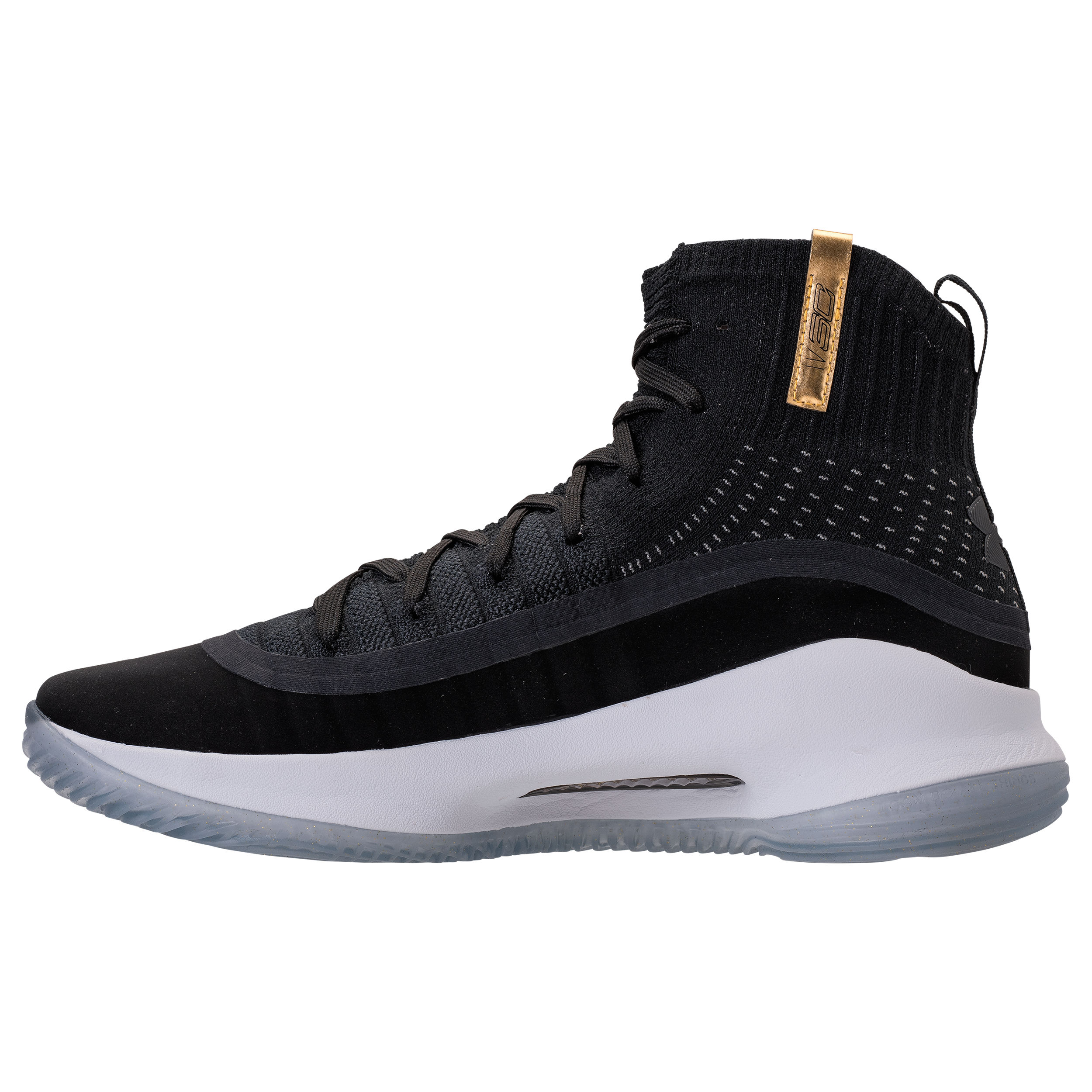 Under armour curry 4 black gold 3