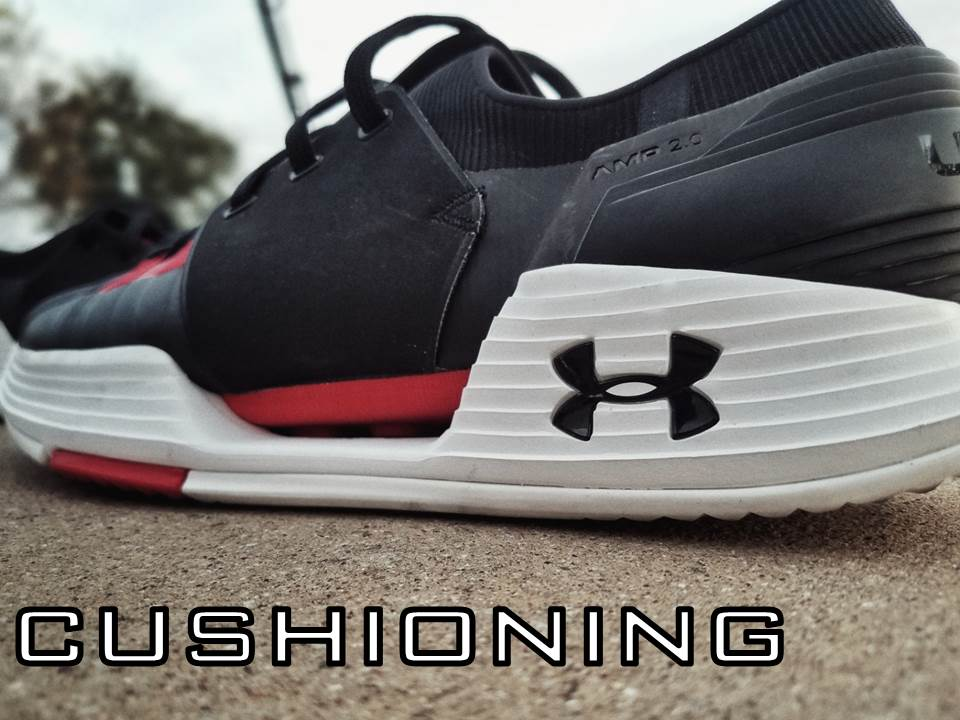 UNDER ARMOUR SPEEDFORM AMP 2.0 Performance Review cushioning