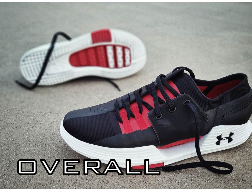UNDER ARMOUR SPEEDFORM AMP 2.0 Performance Review overall