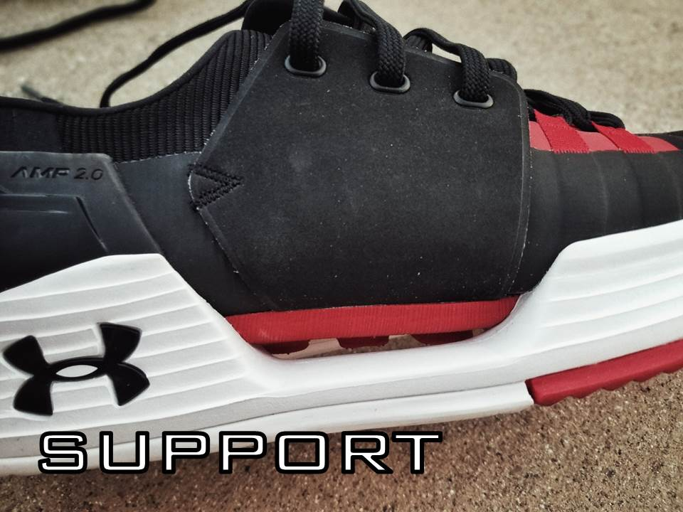 UNDER ARMOUR SPEEDFORM AMP 2.0 Performance Review support