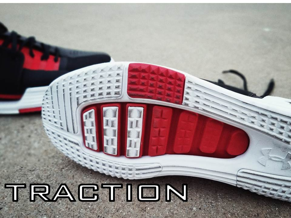 UNDER ARMOUR SPEEDFORM AMP 2.0 Performance Review traction