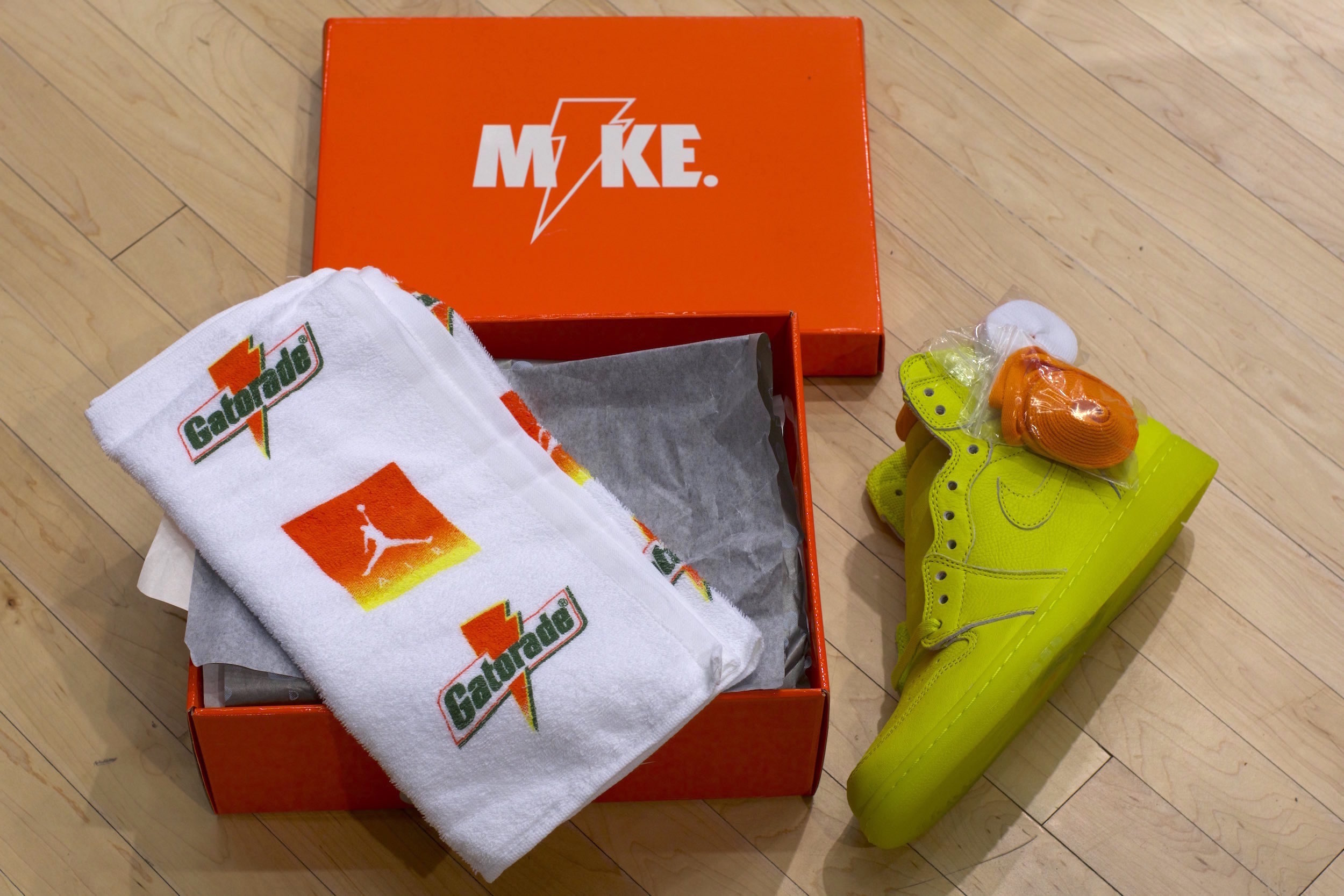 gatorade air jordan 1 like mike pack