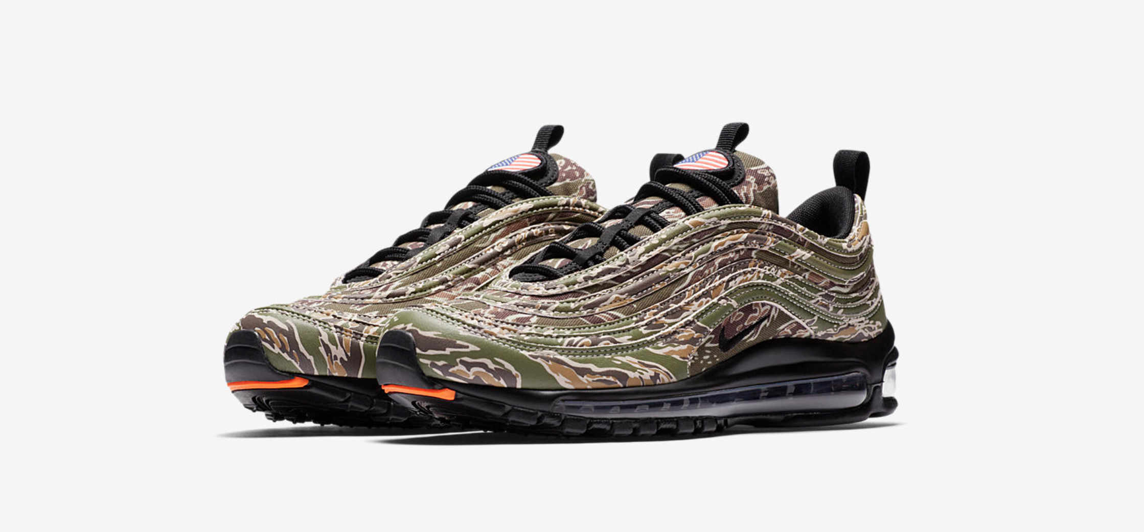 nike air max 97 premium country camo USA 1