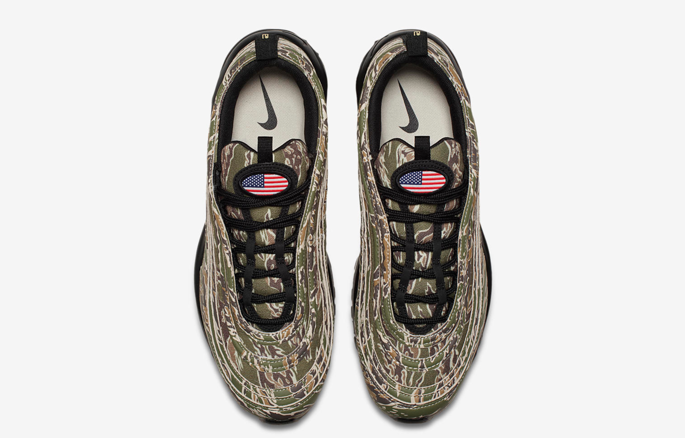 nike air max 97 premium country camo USA 6